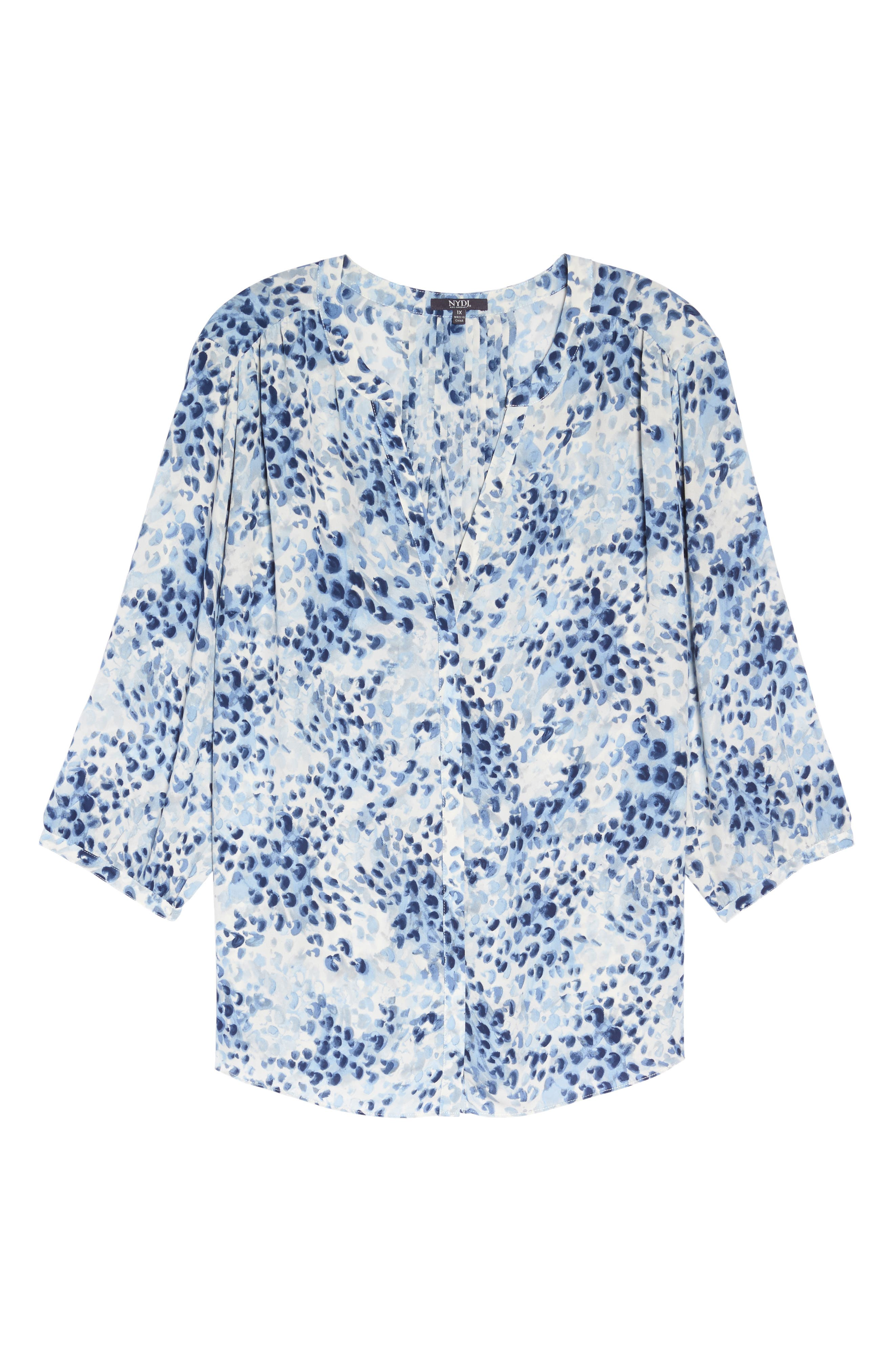 Blouse,                             Main thumbnail 1, color,                             Blue