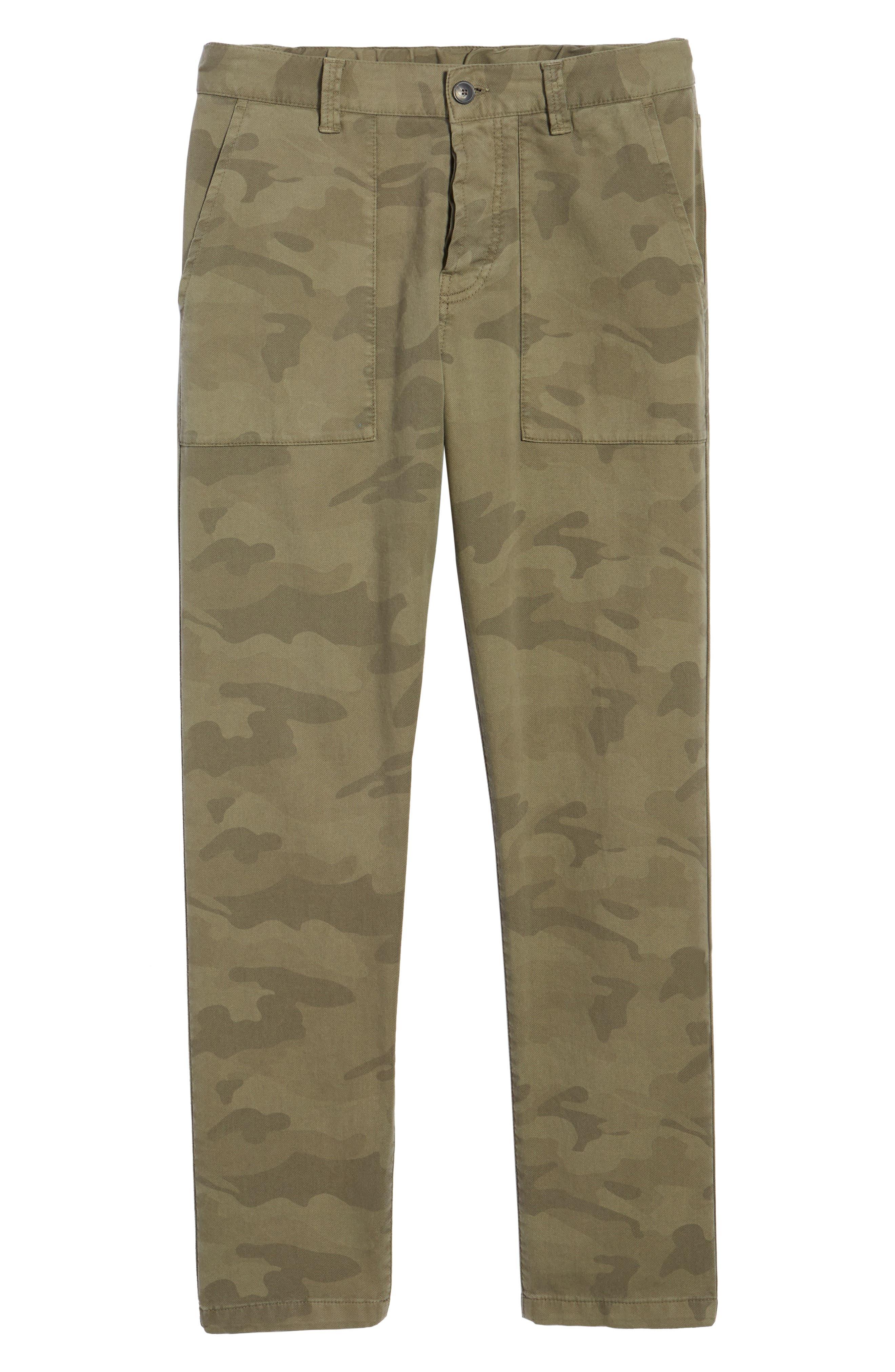 Alternate Image 6  - Eleventy Camo Fatigue Pocket Pants