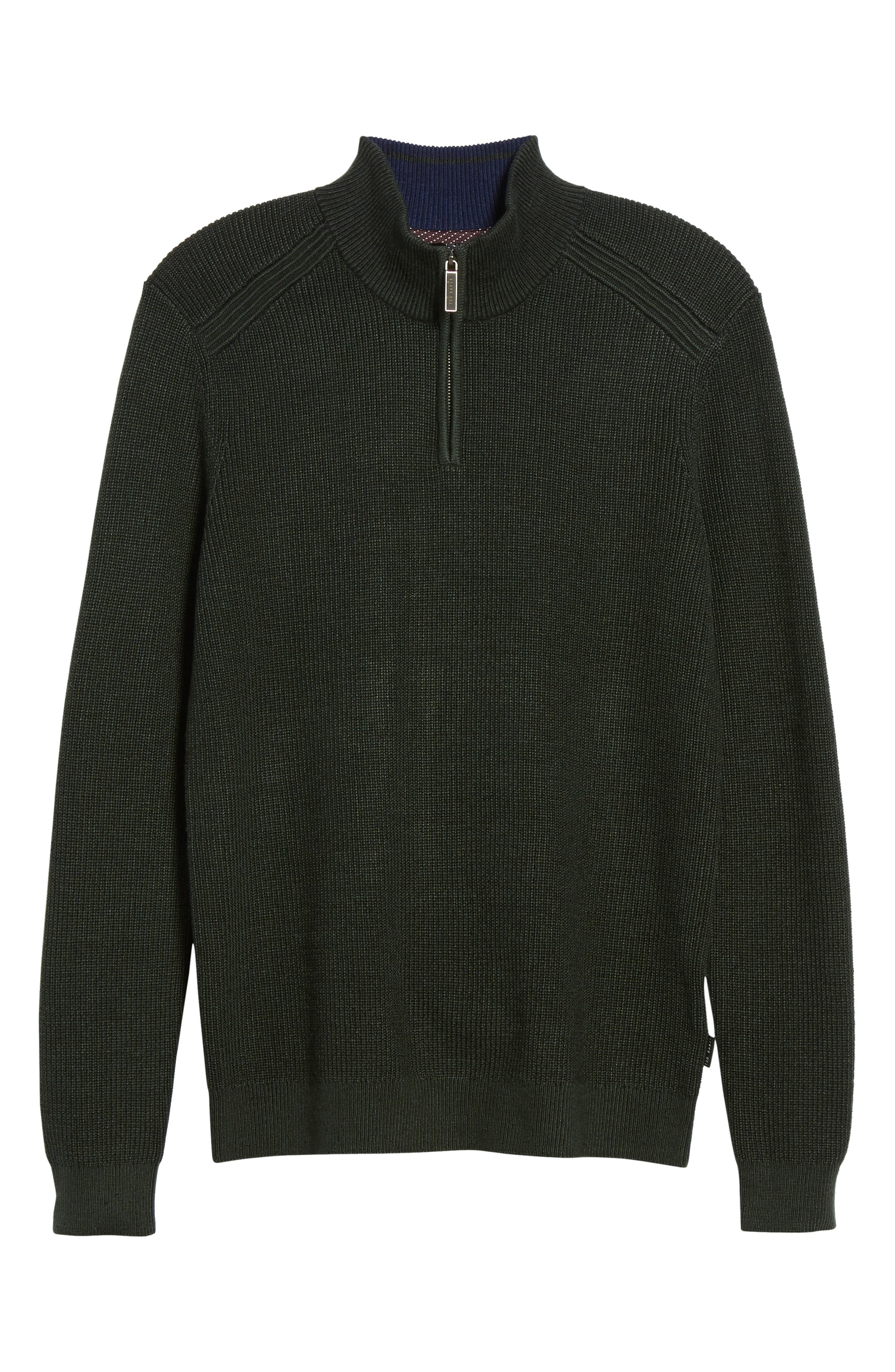 Alternate Image 1 Selected - Ted Baker London Stach Quarter Zip Sweater