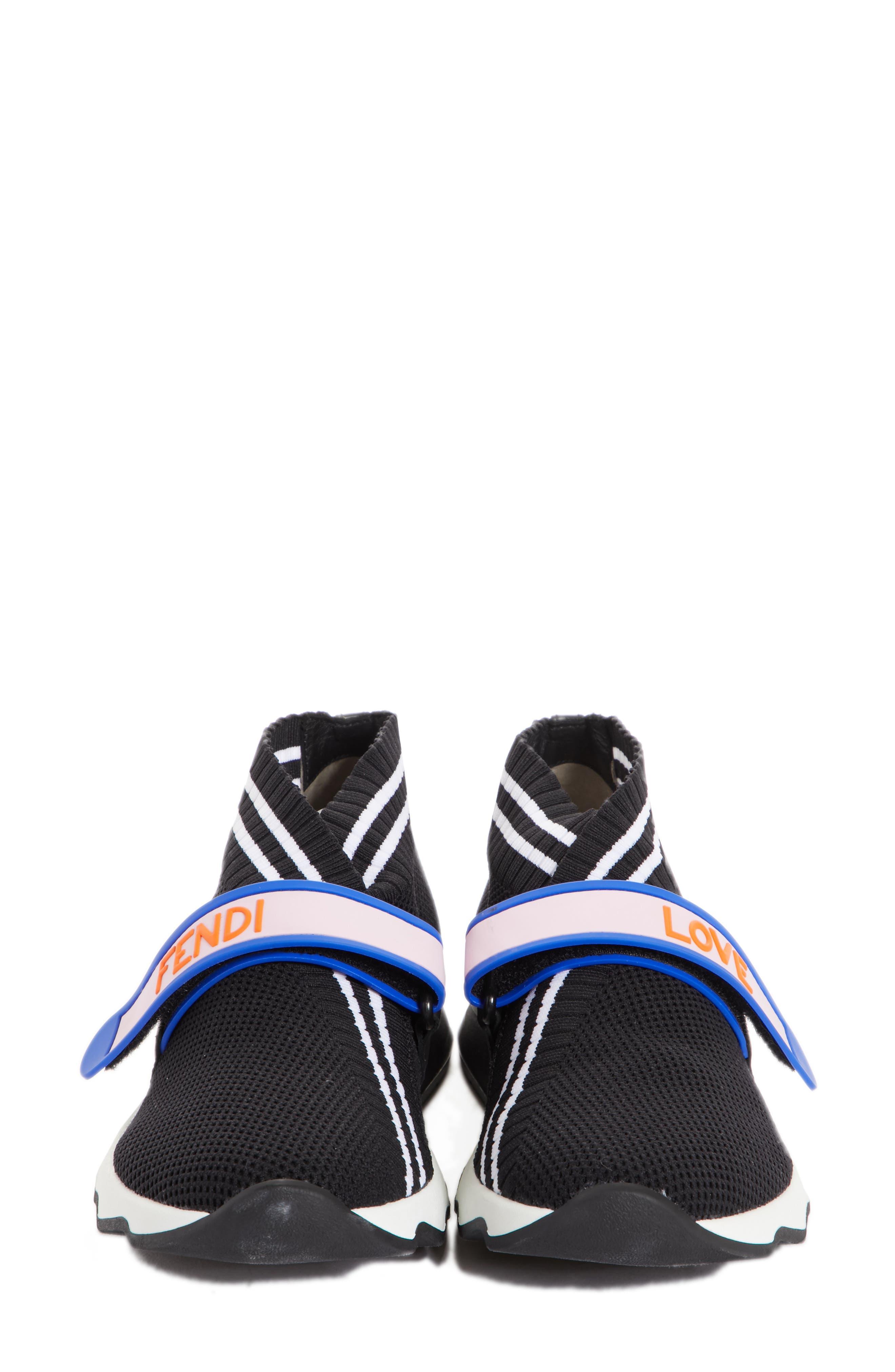 Rockoko Mismatch Sneaker,                             Alternate thumbnail 4, color,                             Black