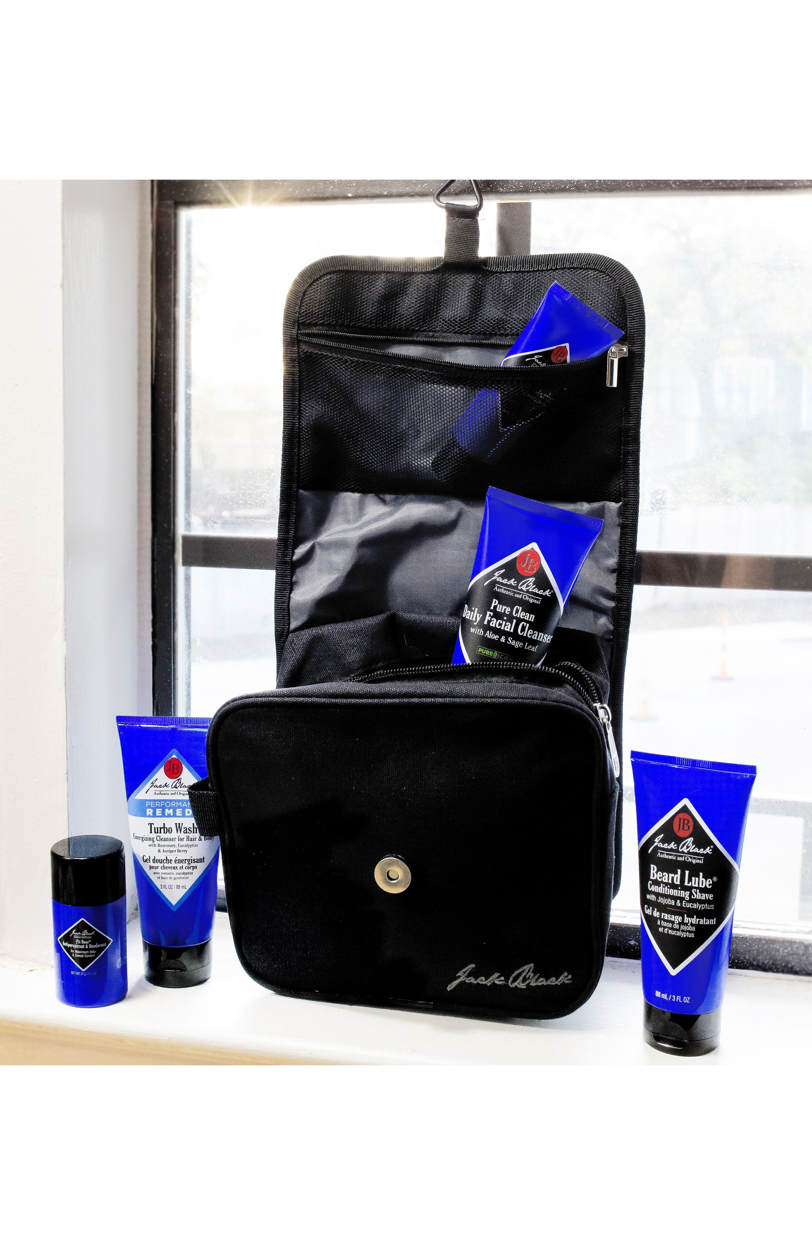 Alternate Image 4  - Jack Black 'Turbo Wash®' Energizing Cleanser for Hair & Body (Travel Size)
