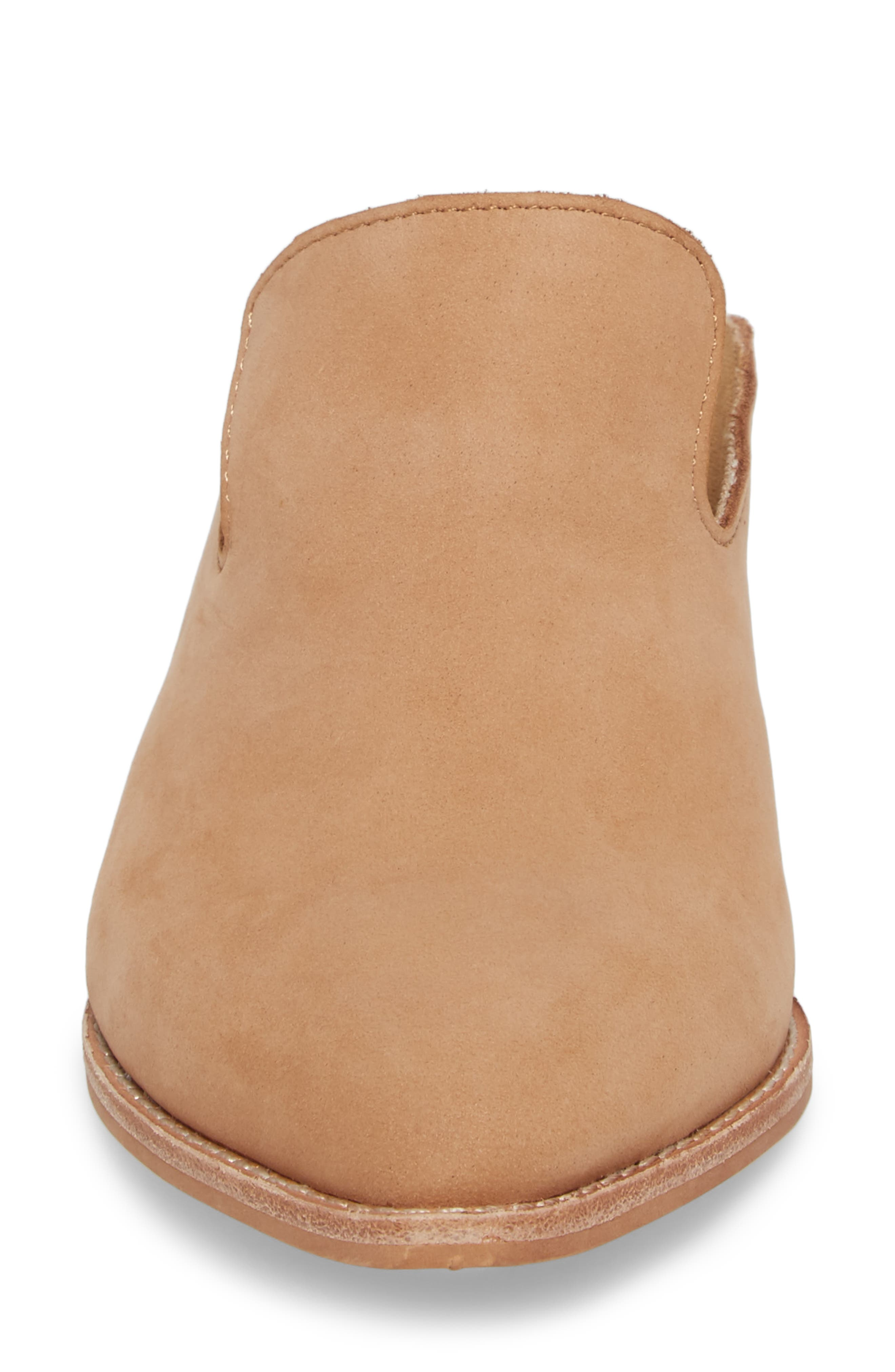 Marnie Loafer Mule,                             Alternate thumbnail 4, color,                             Natural