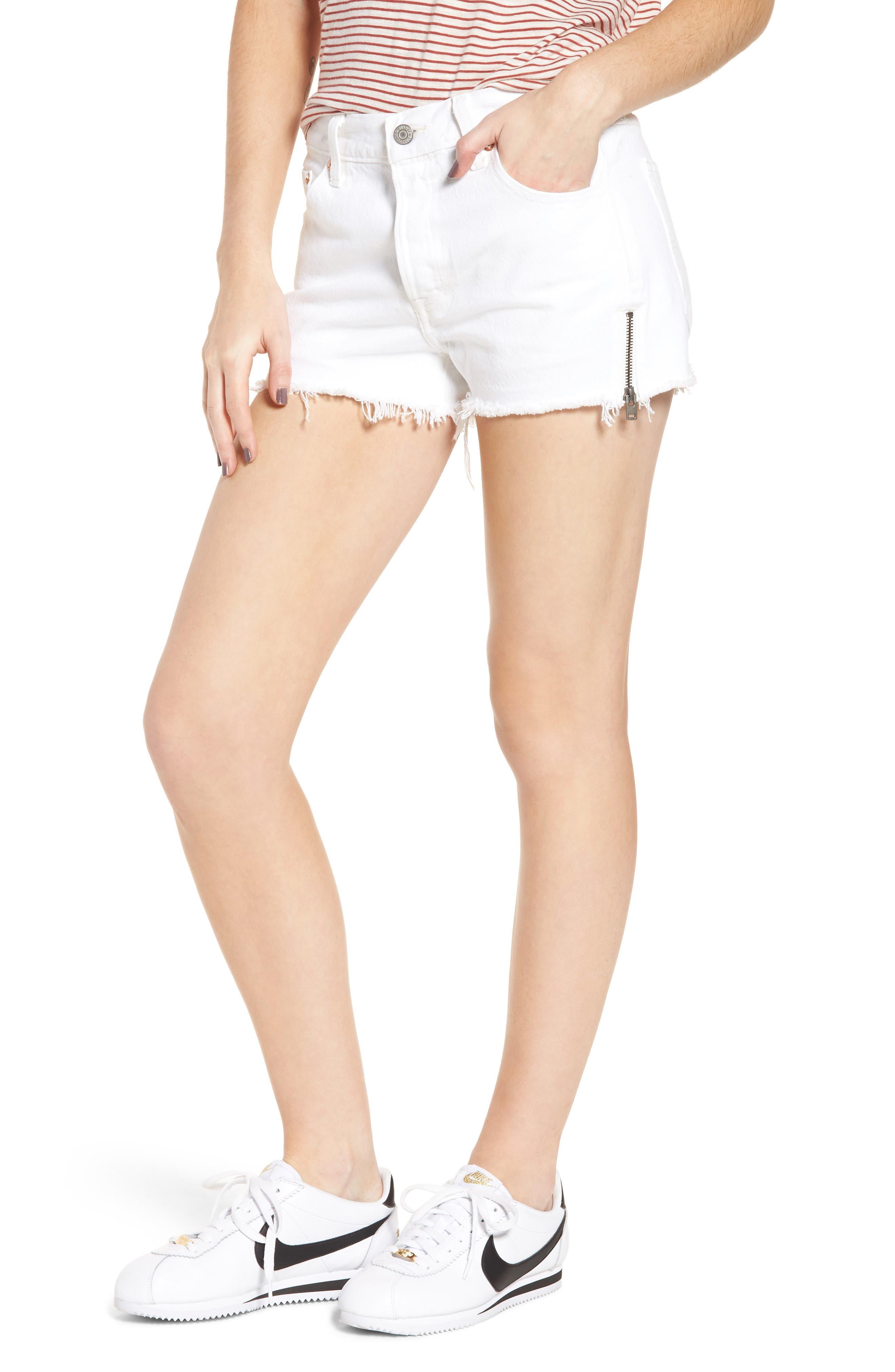 Levi's® 501® Altered Zip Denim Shorts