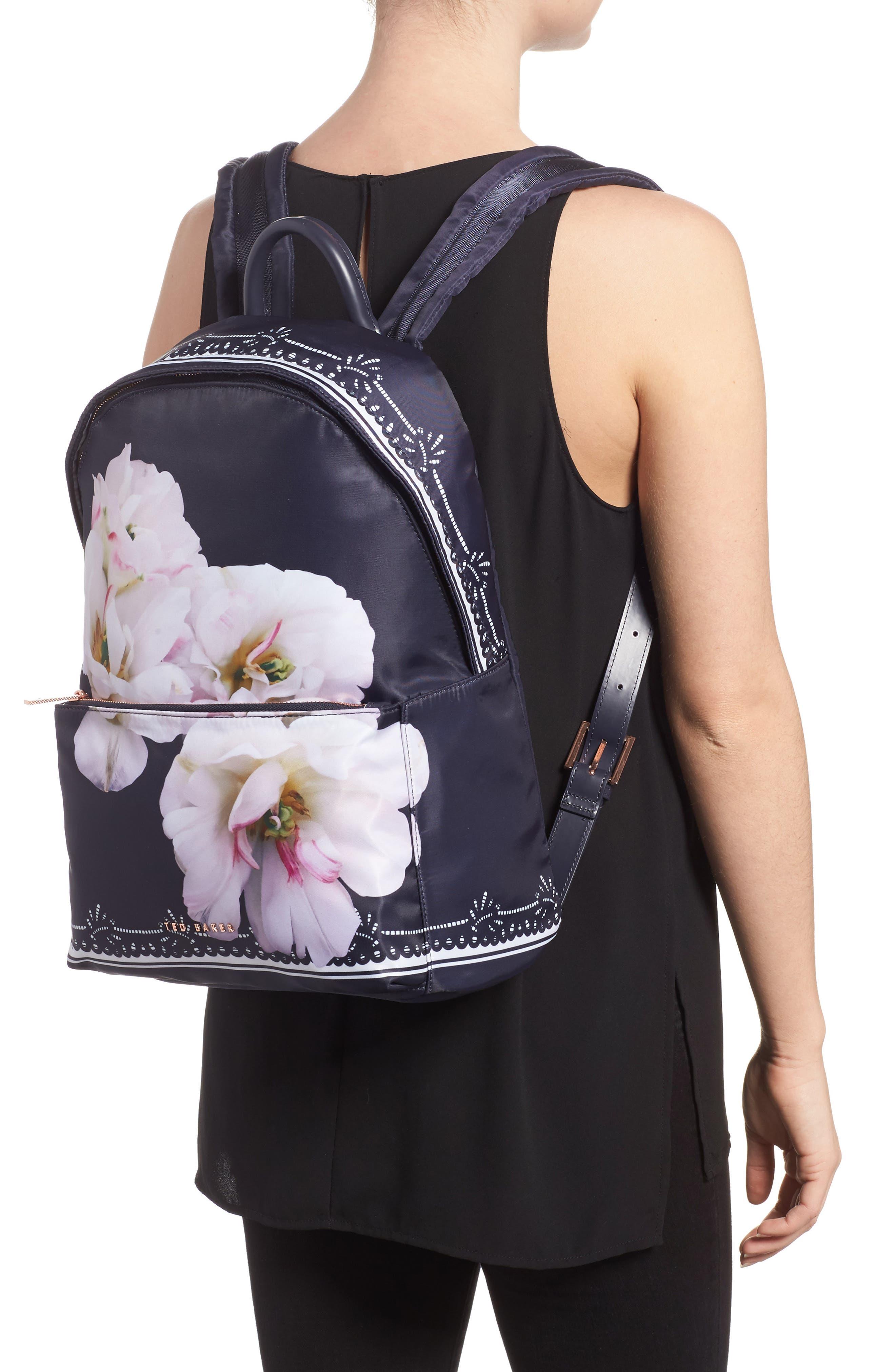 Kayleey Gardenia Backpack,                             Alternate thumbnail 2, color,                             Dark Blue