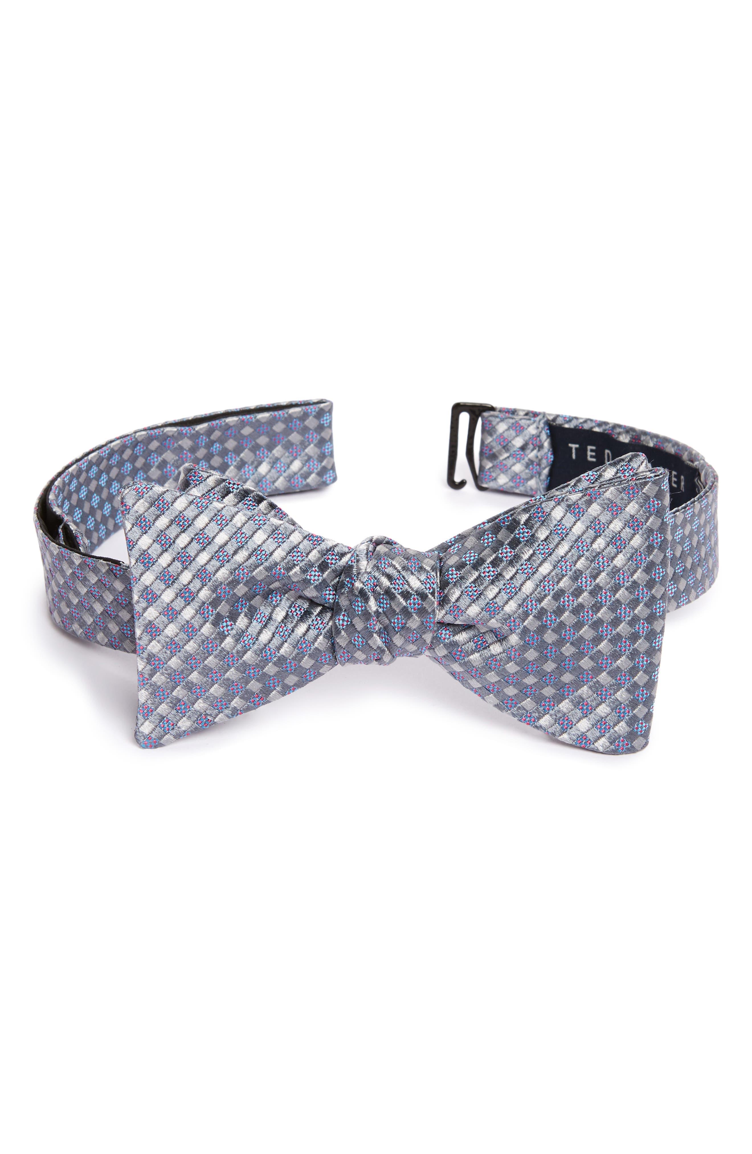 Alternate Image 1 Selected - Ted Baker London Geometric Silk Bow Tie