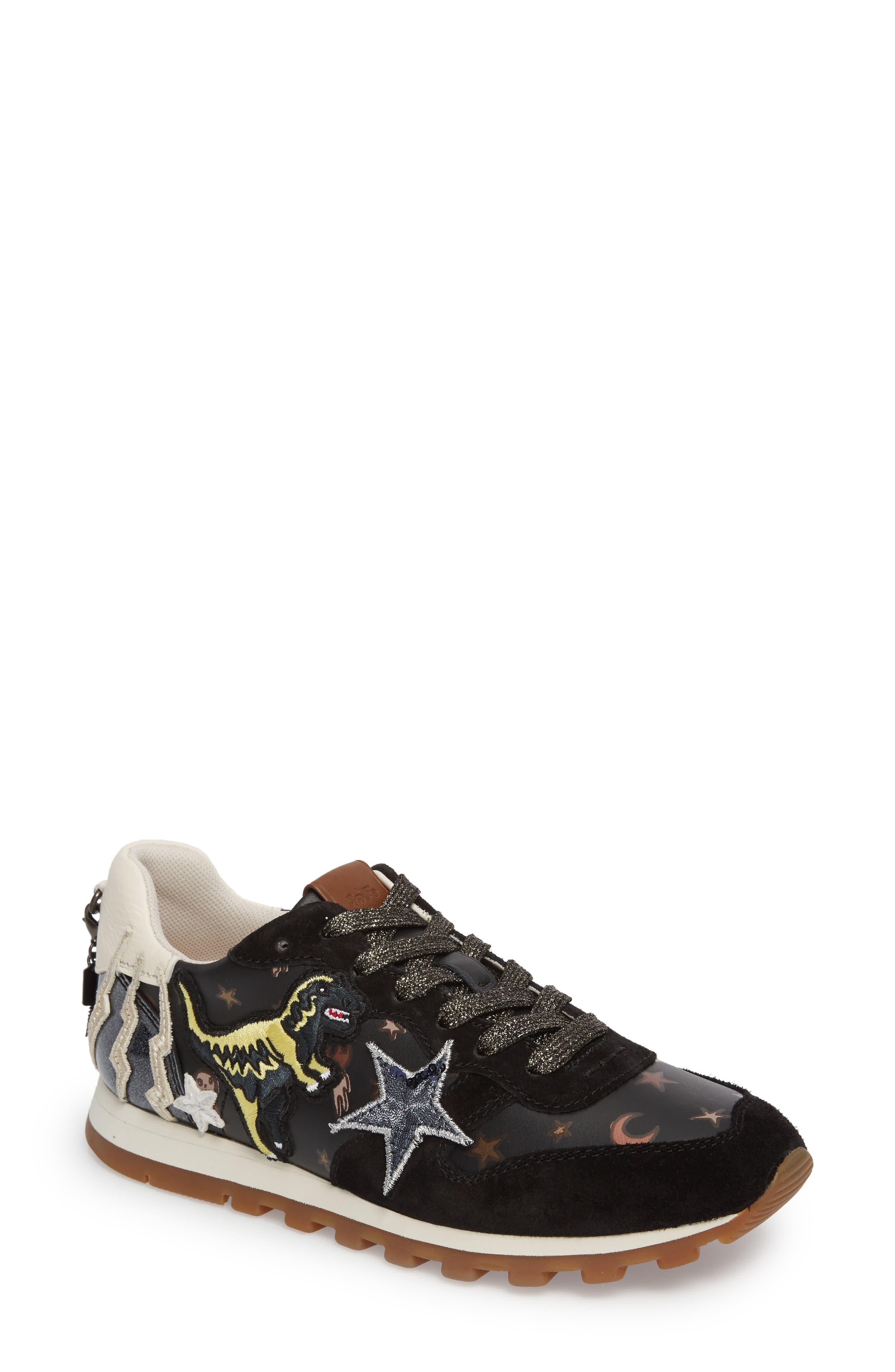 Alternate Image 1 Selected - COACH Rex Patch Sneaker (Women)