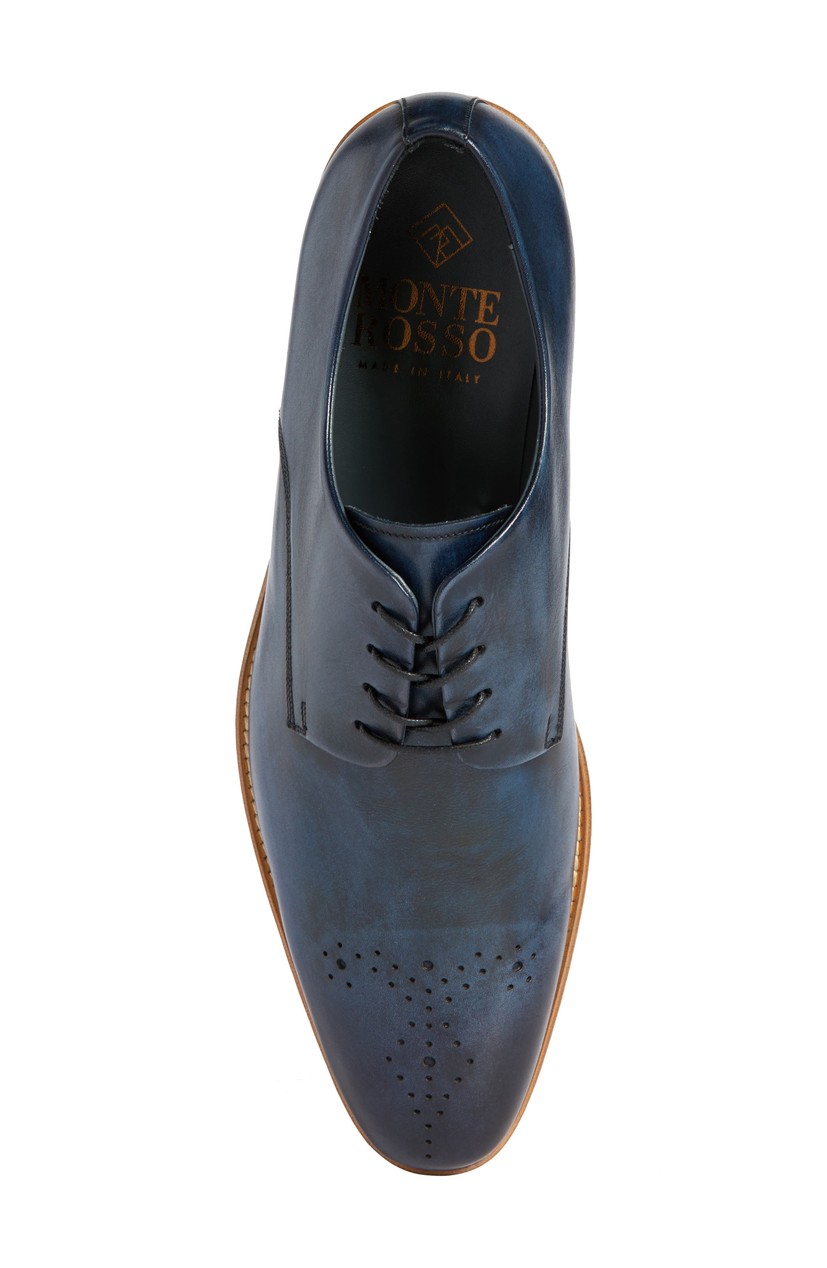 Alessandro Derby,                             Alternate thumbnail 5, color,                             Navy Leather