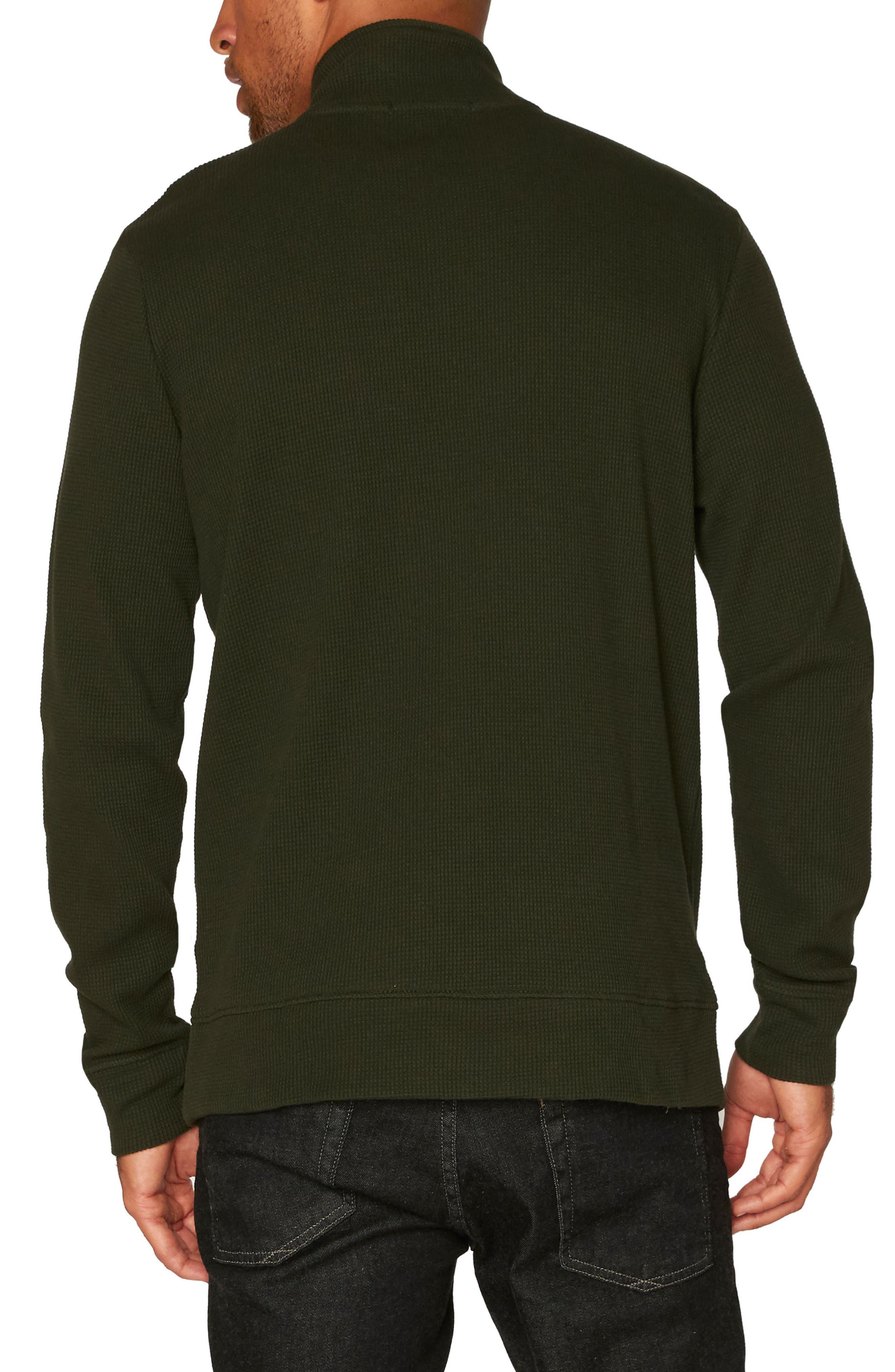 Chad Half Zip Thermal Pullover,                             Alternate thumbnail 2, color,                             Rosin
