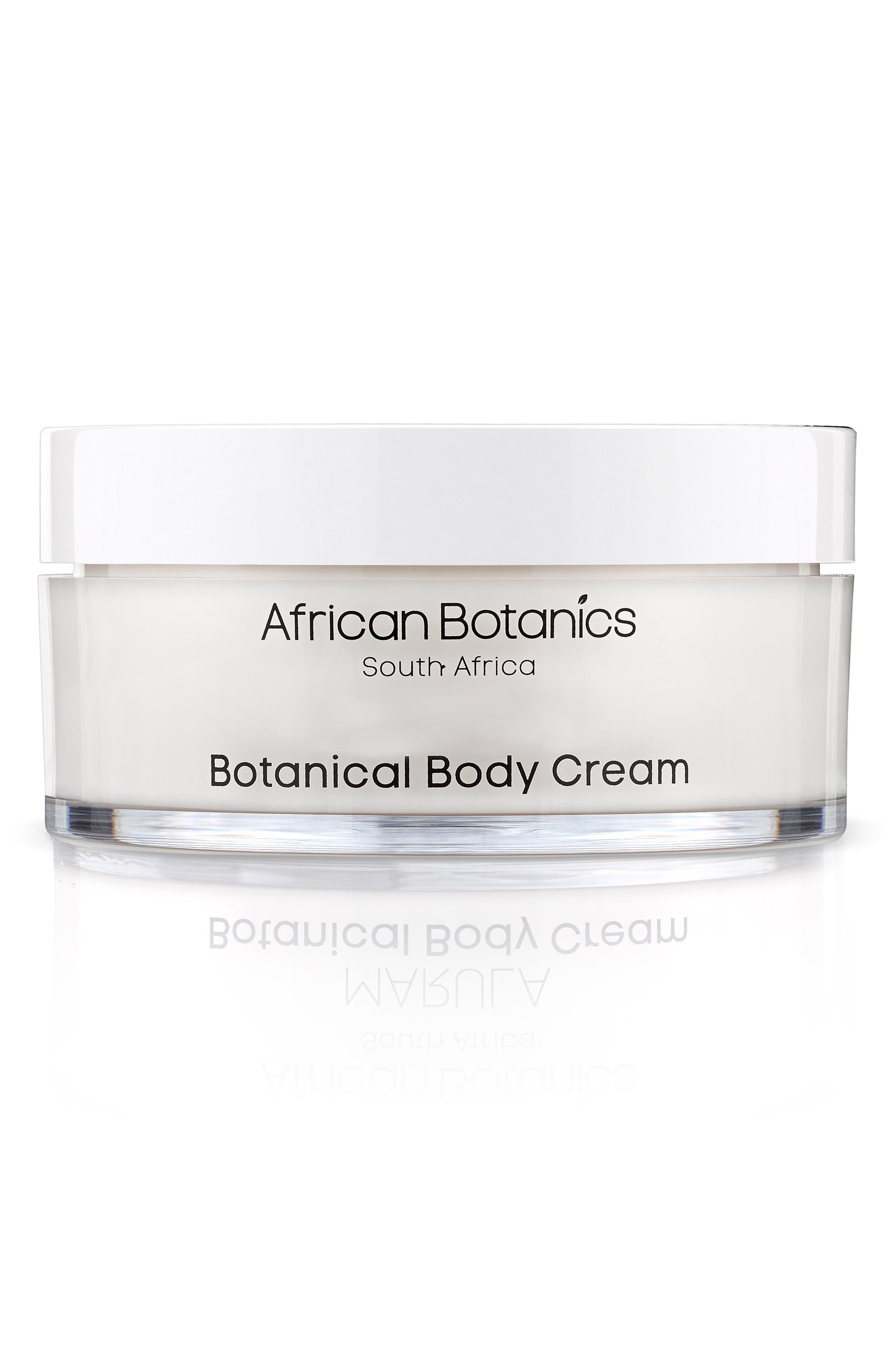 Marula Botanical Body Cream,                             Main thumbnail 1, color,                             No Color