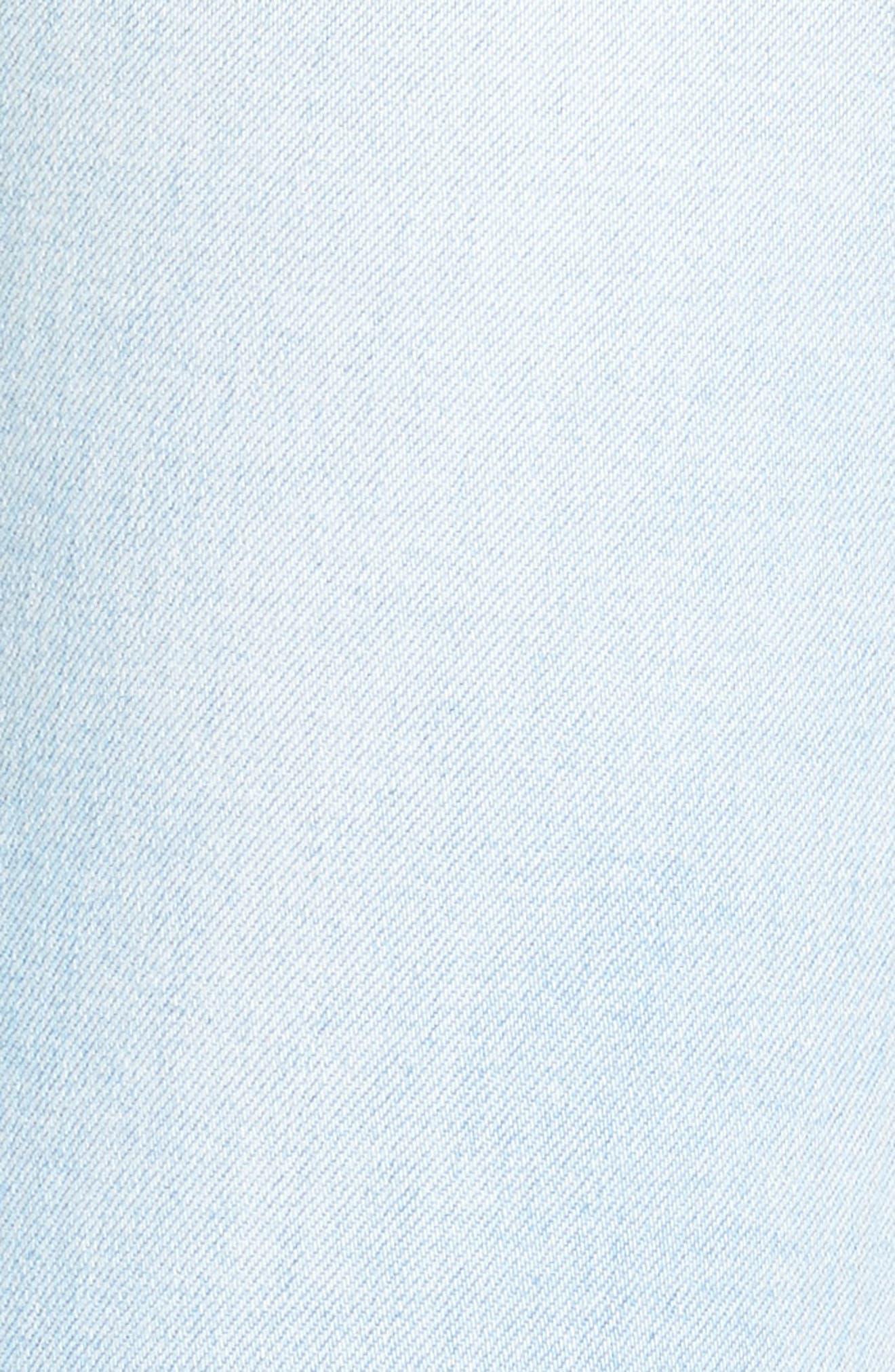 Empire Ankle Skinny Jeans,                             Alternate thumbnail 6, color,                             Beach Break