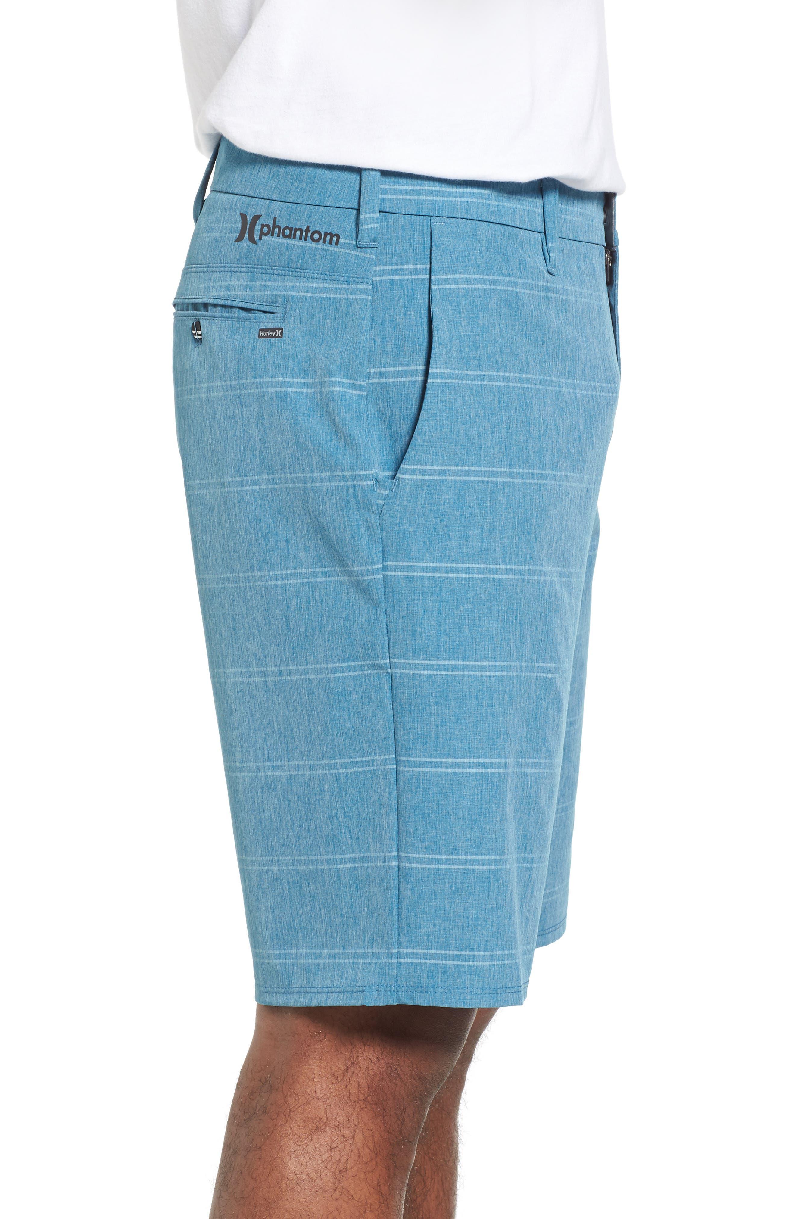 Phantom Hybrid Shorts,                             Alternate thumbnail 3, color,                             Space Blue