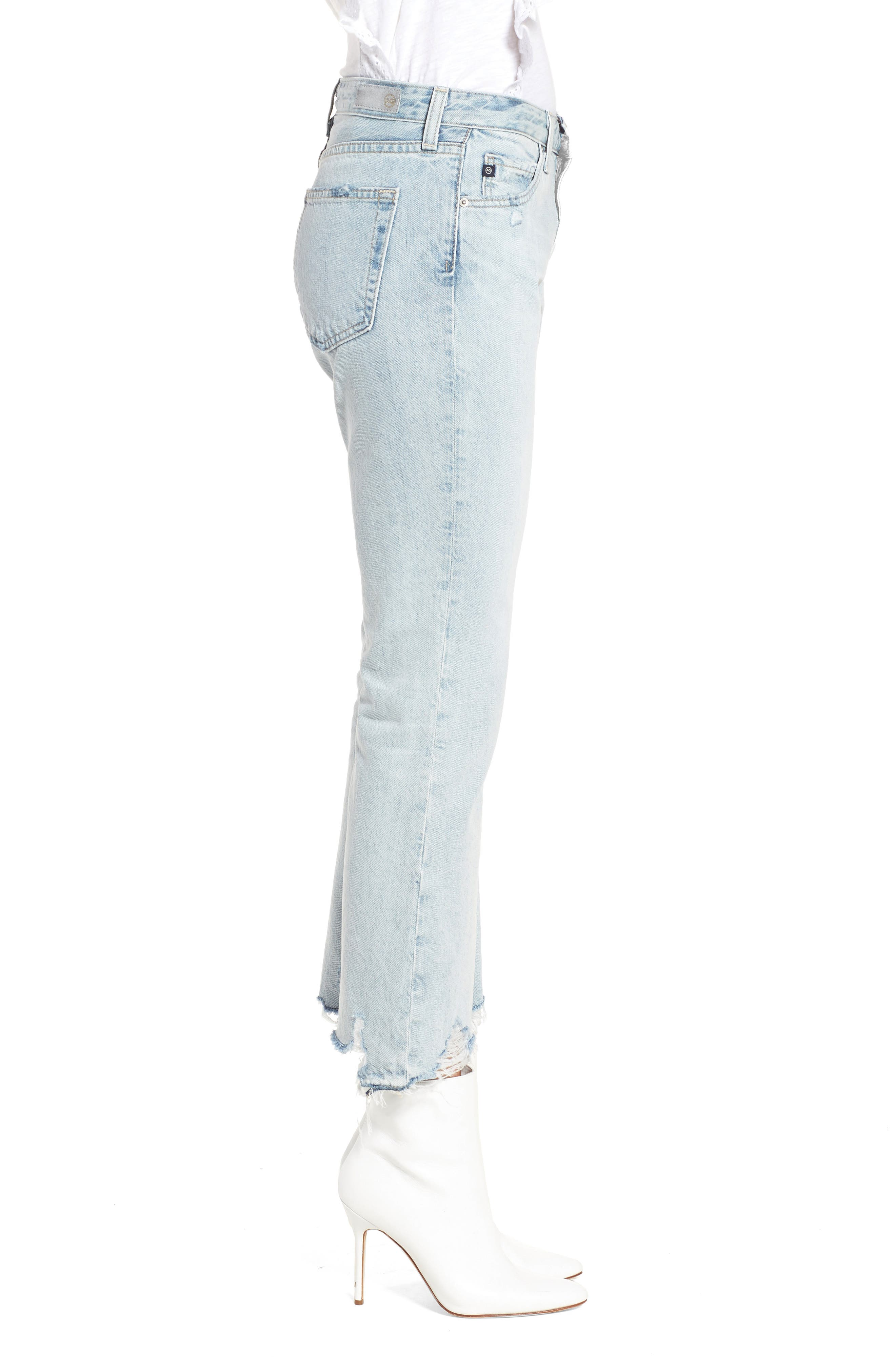 Alternate Image 3  - AG Jeans Jodi Crop Jeans (Bering Wave)