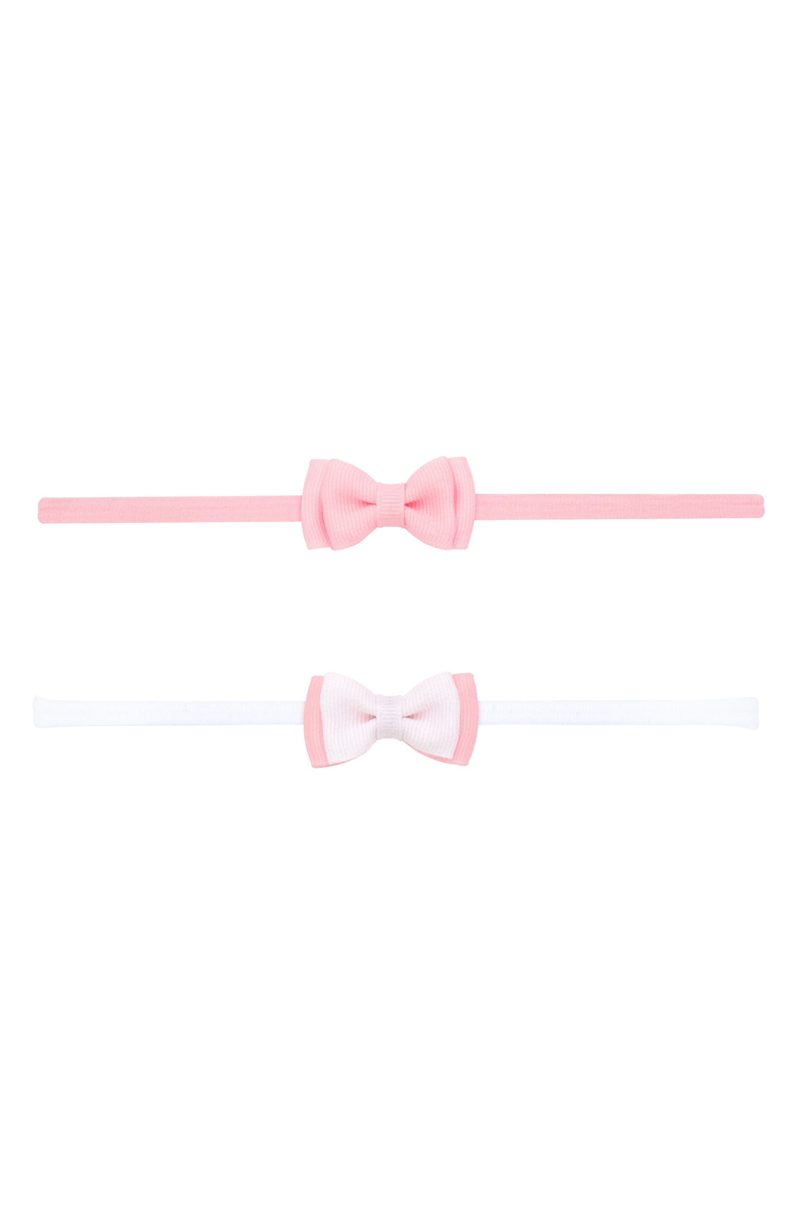 PLH Bows & Laces 2-Pack Bow Headbands (Baby Girls)