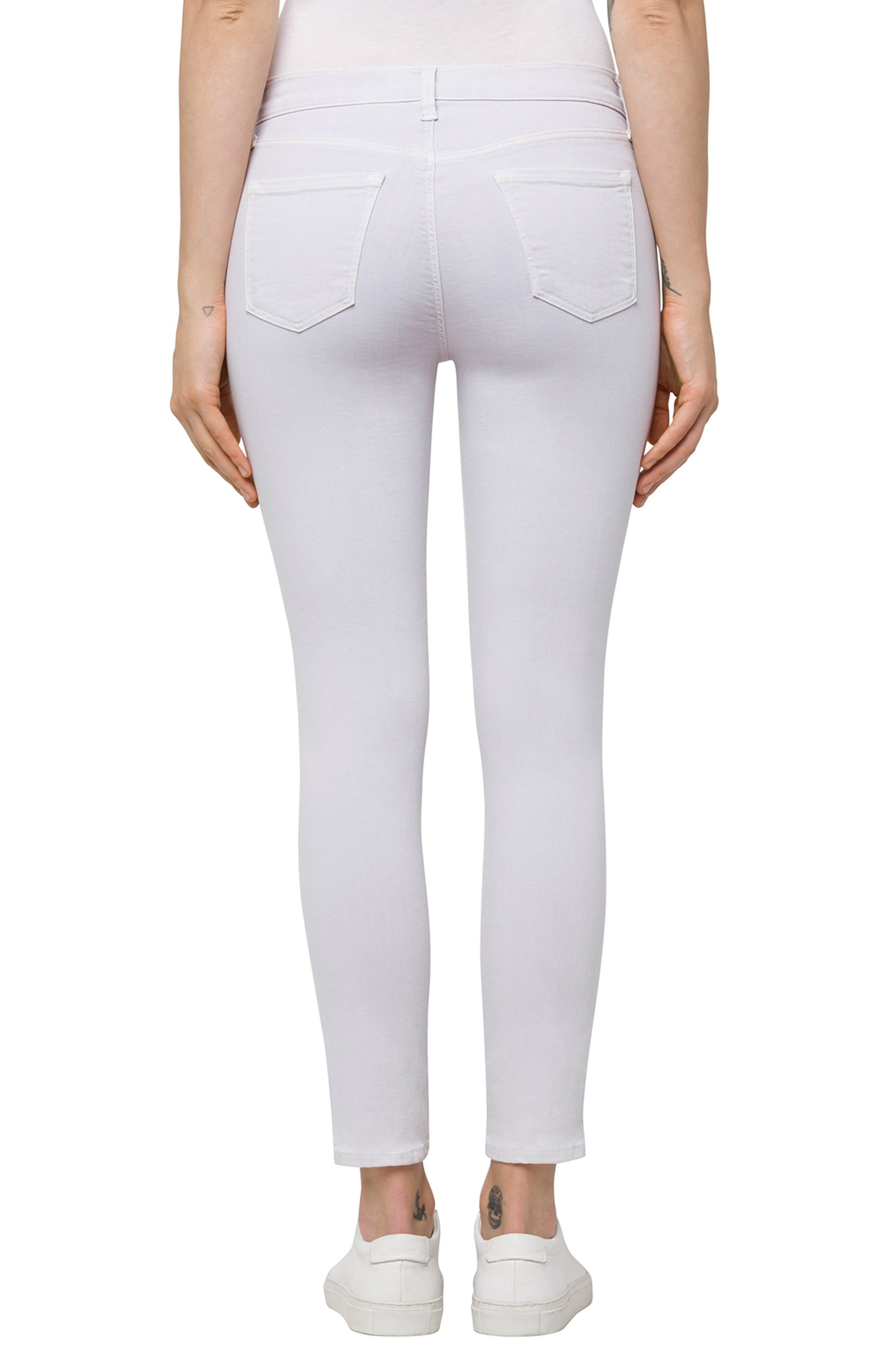 835 Capri Skinny Jeans,                             Alternate thumbnail 2, color,                             Frosted Amethyst