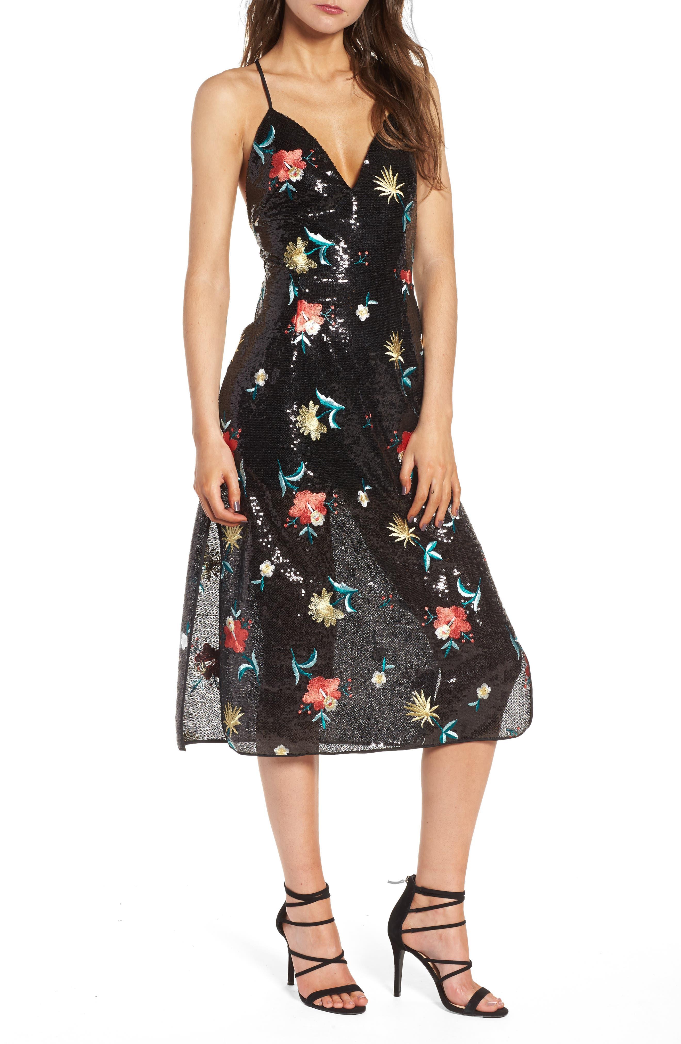 Main Image - Lovers + Friends Melinda Midi Dress