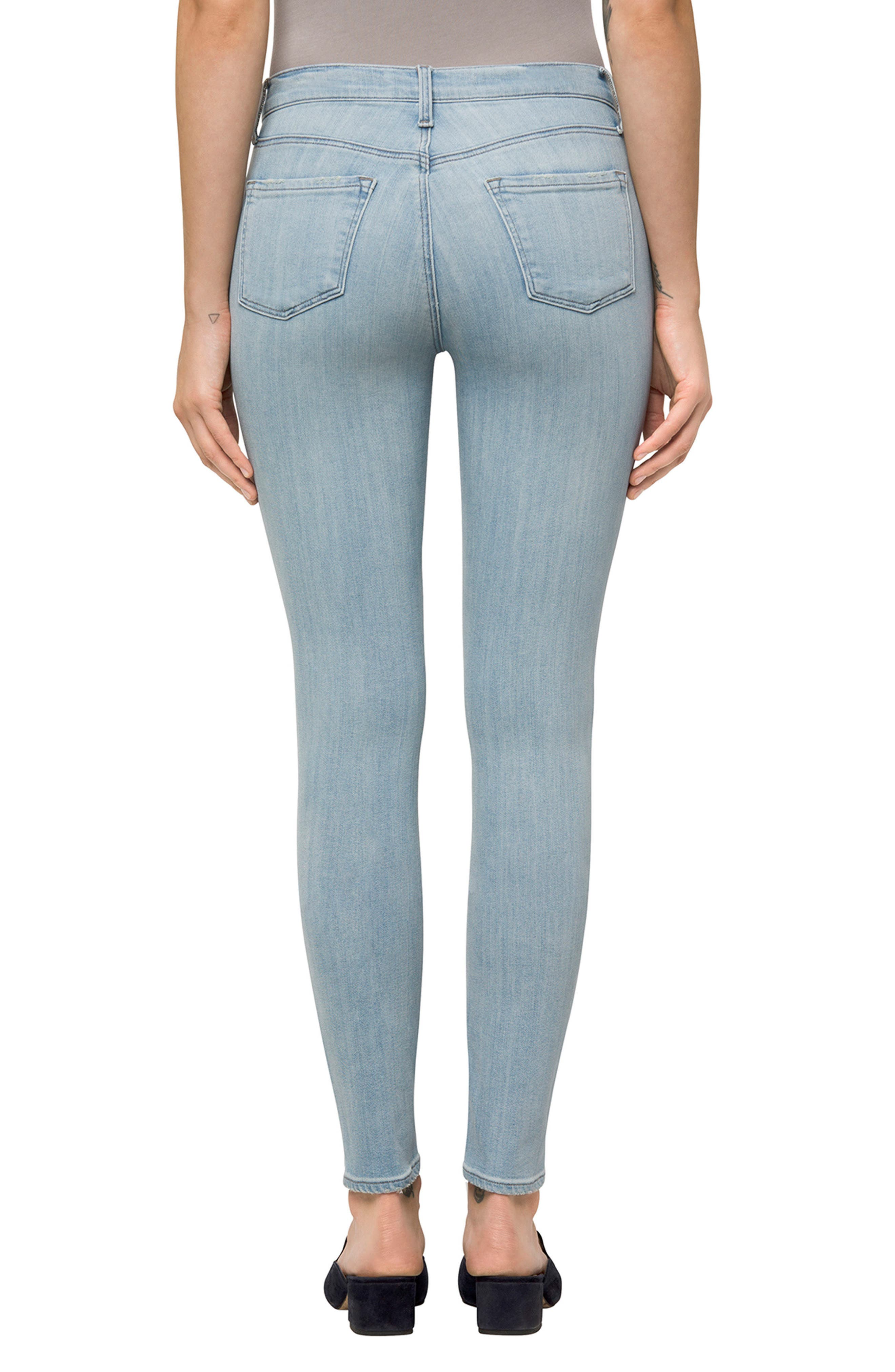 811 Skinny Jeans,                             Alternate thumbnail 2, color,                             Refresh Destruct