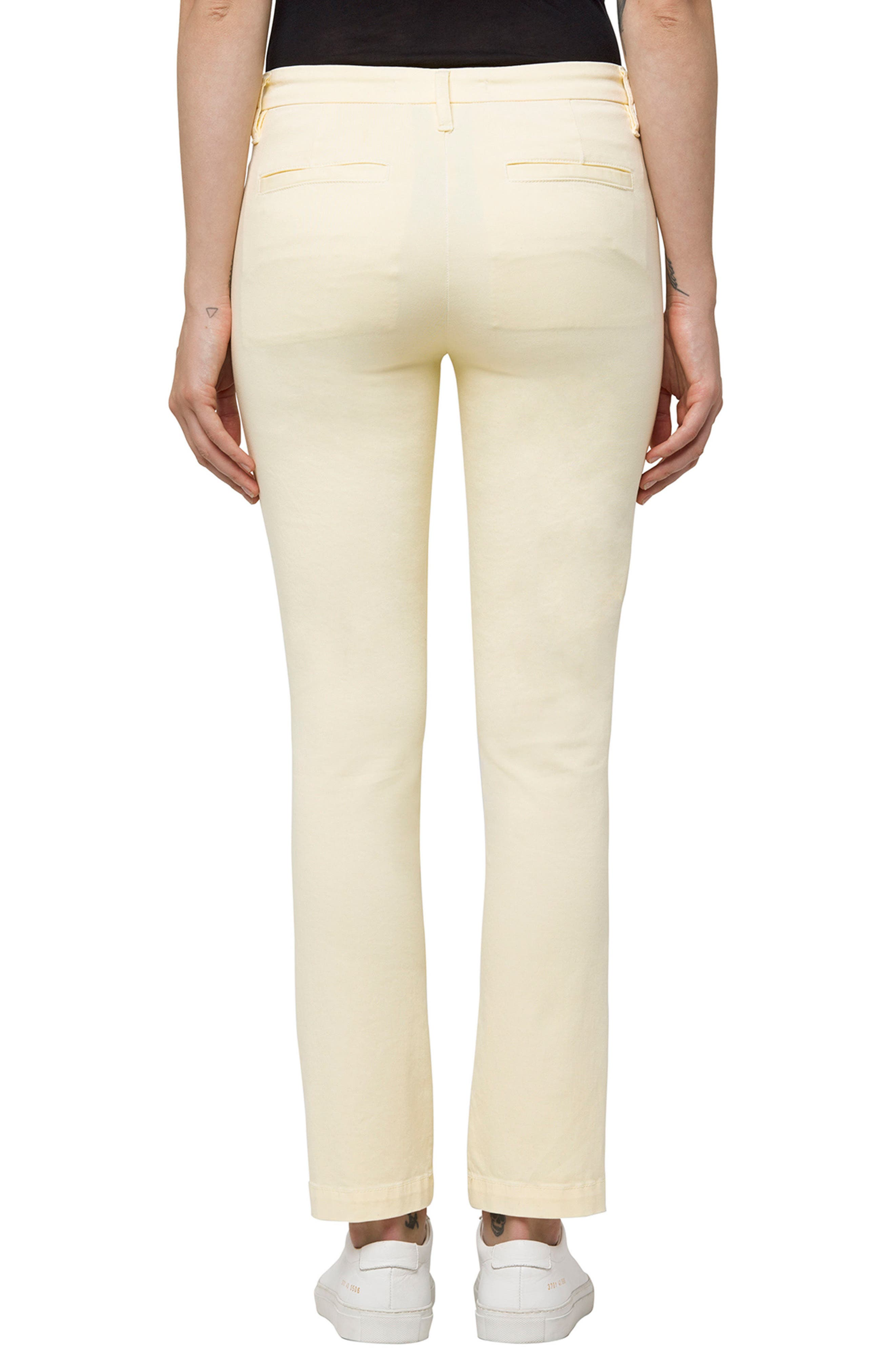 Alternate Image 2  - J Brand Clara Ankle Trousers (Butter)