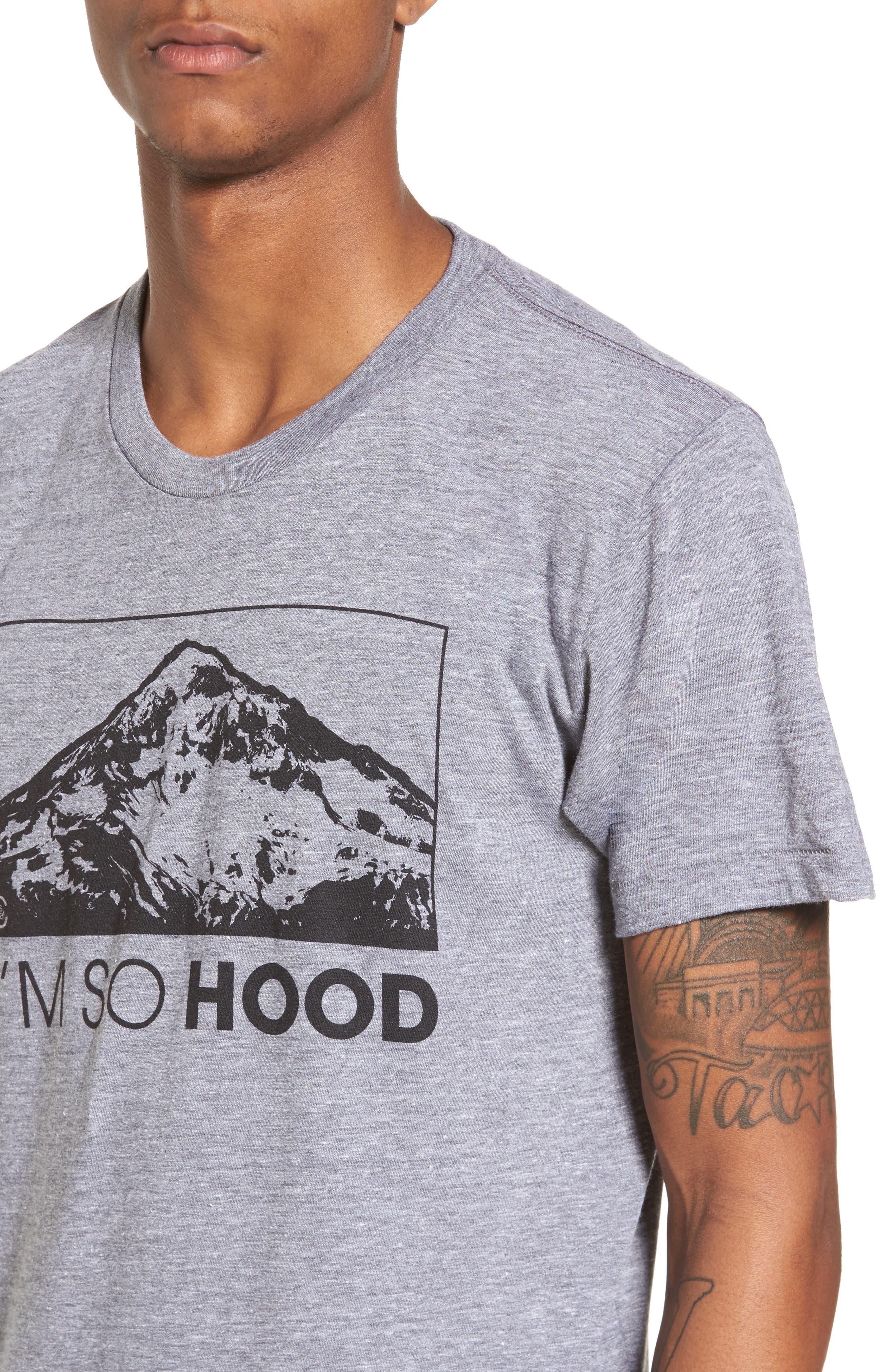 I'm So Hood T-Shirt,                             Alternate thumbnail 4, color,                             Tri Athletic Grey