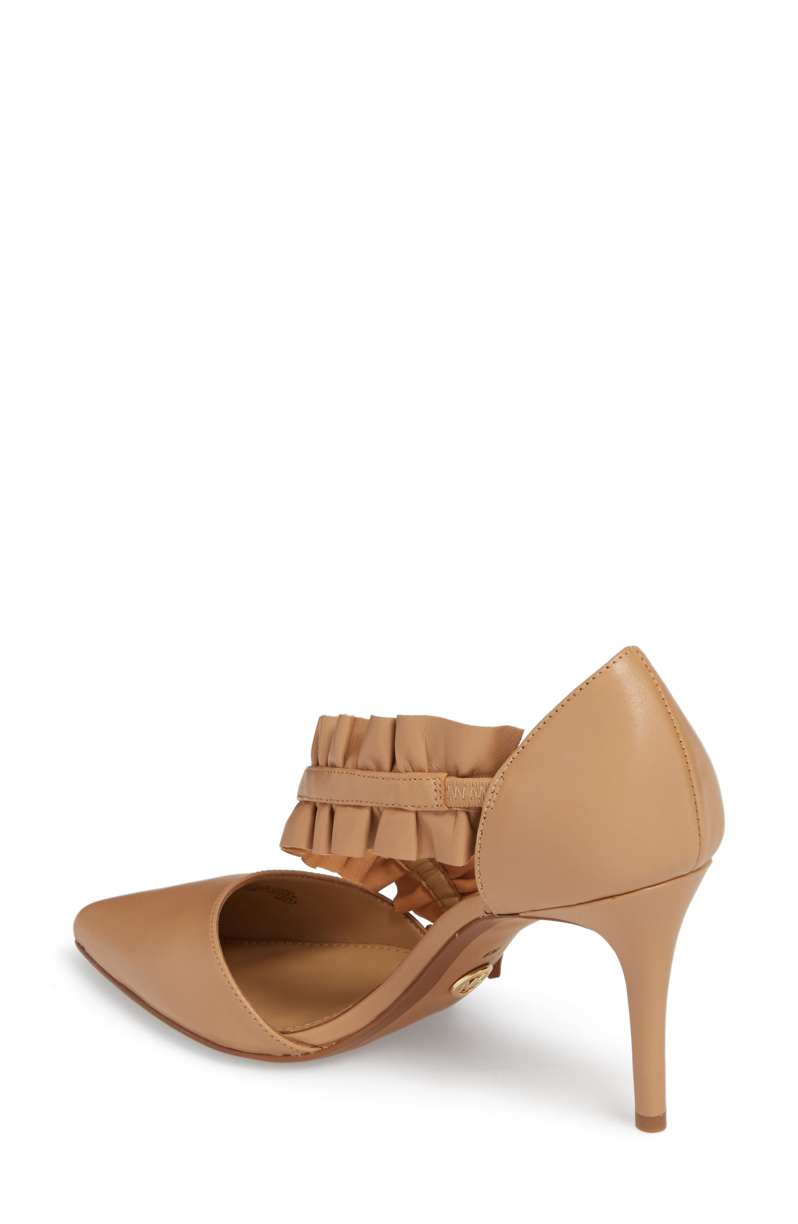 Alternate Image 2  - MICHAEL Michael Kors Bella Ruffle Pump (Women)