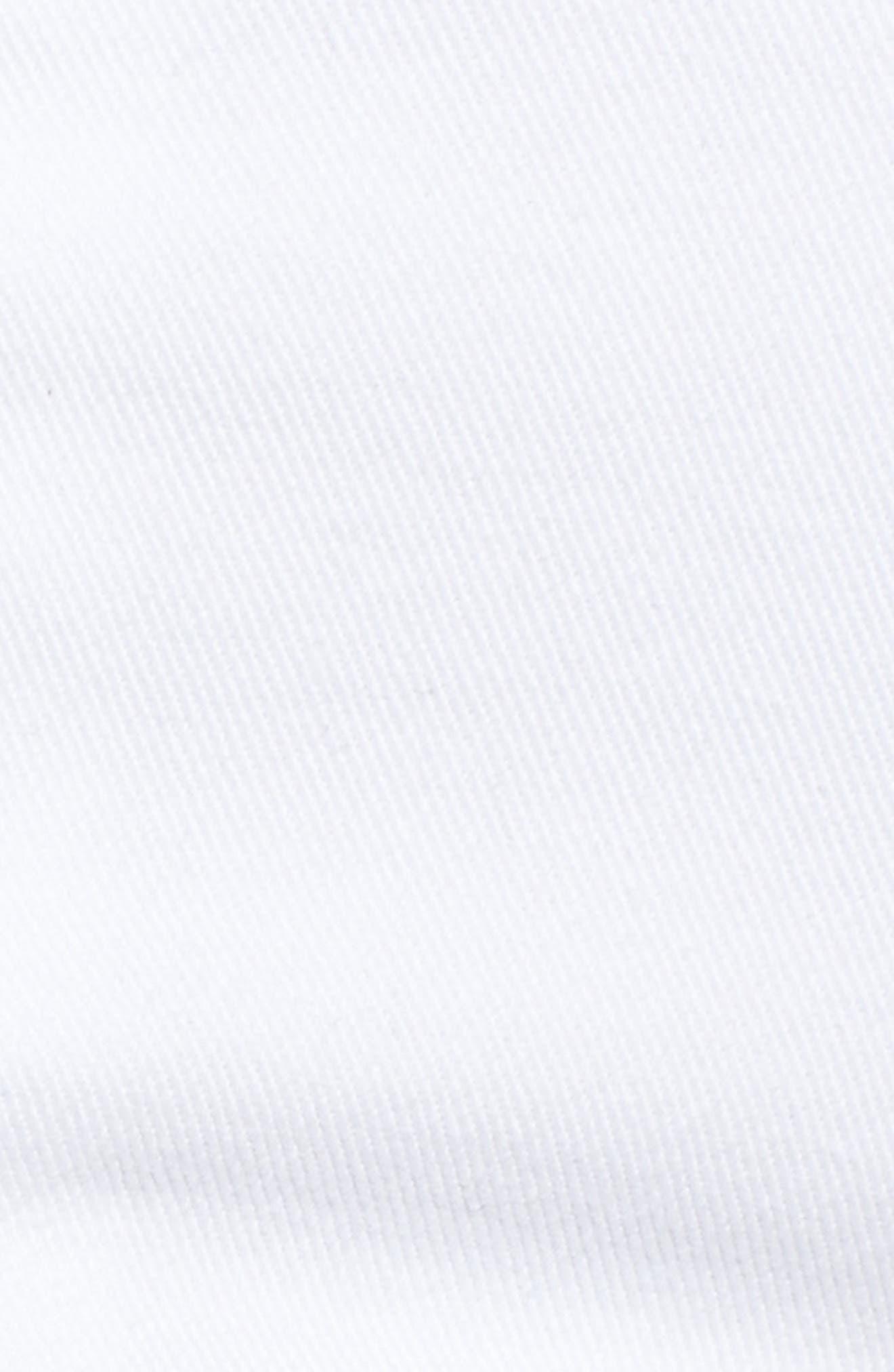 Distressed Boyfriend Denim Shorts,                             Alternate thumbnail 6, color,                             Optic White