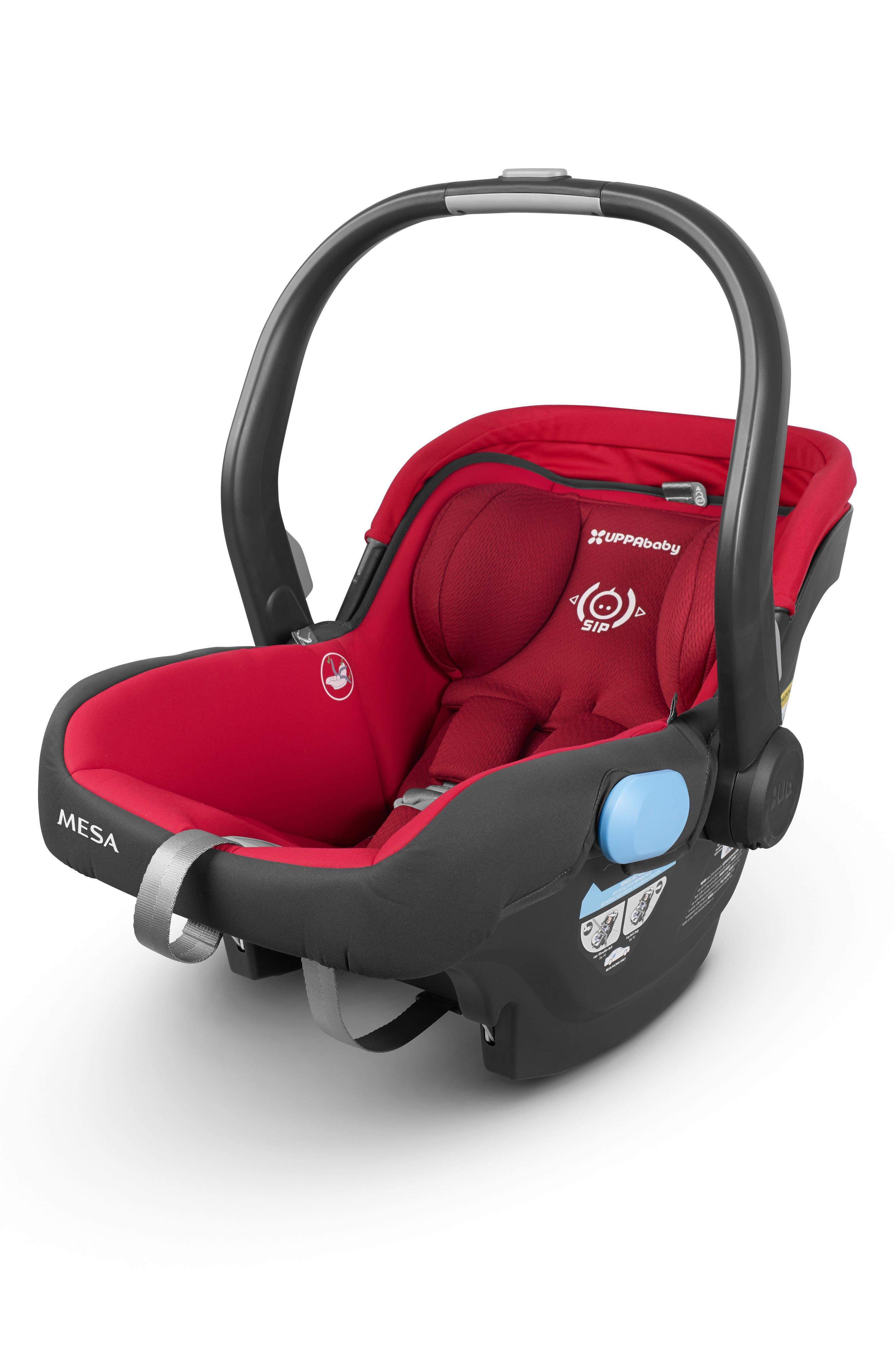 2018 MESA Infant Car Seat,                         Main,                         color, Denny Red