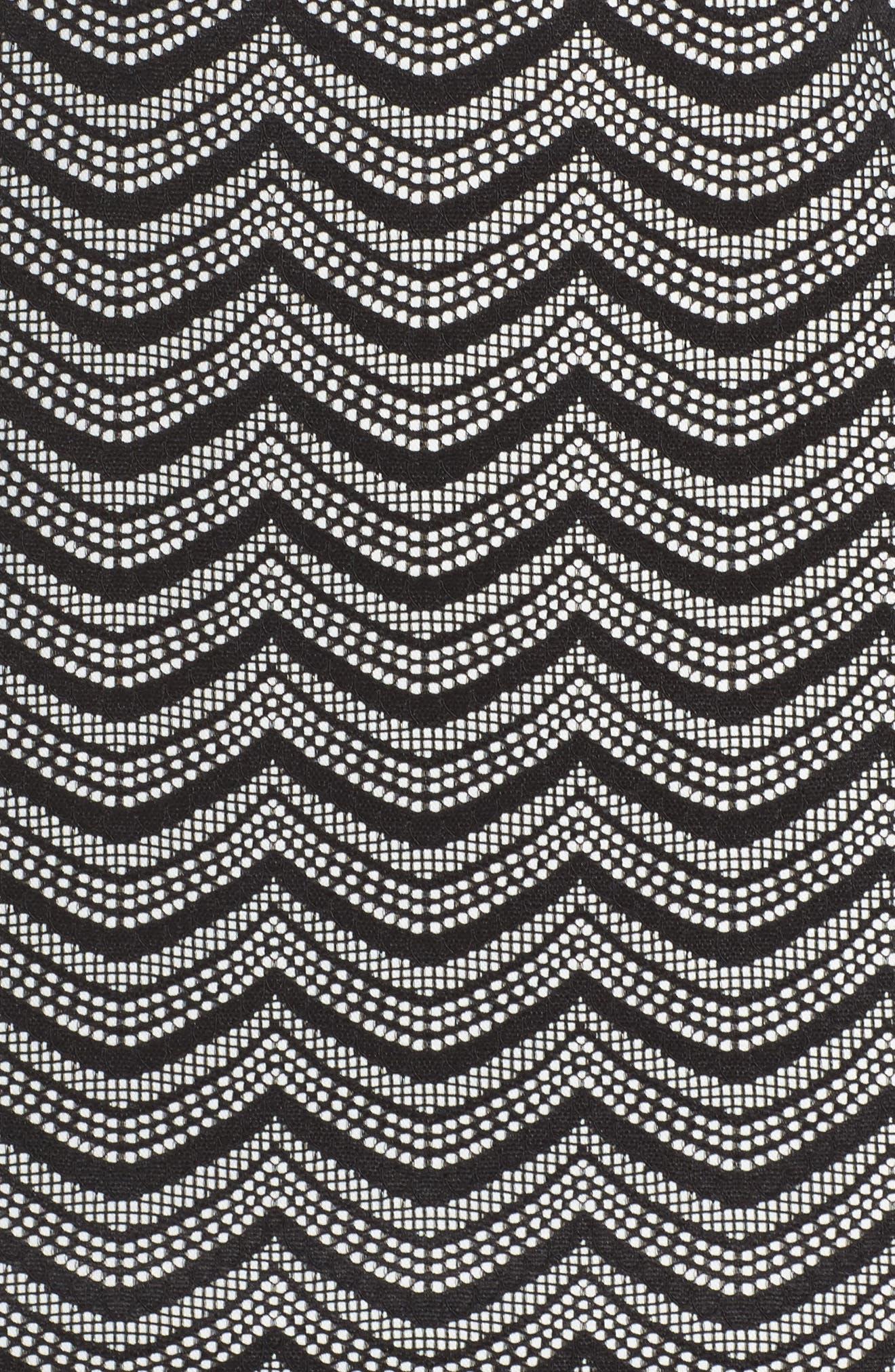 Alternate Image 5  - Julia Jordan Fringe Sheath Dress