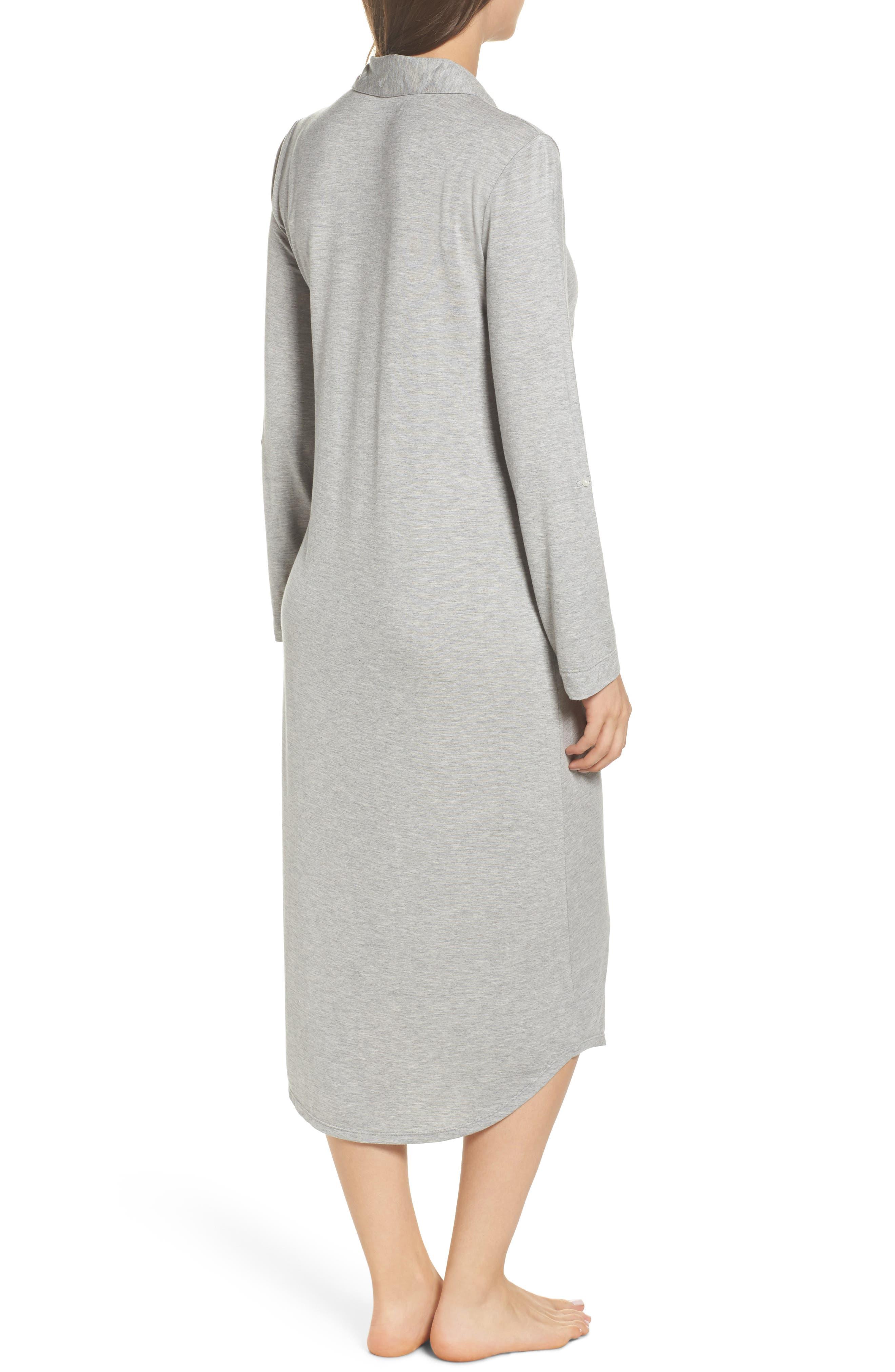 Alternate Image 2  - Lauren Ralph Lauren Ballet Jersey Sleep Shirt