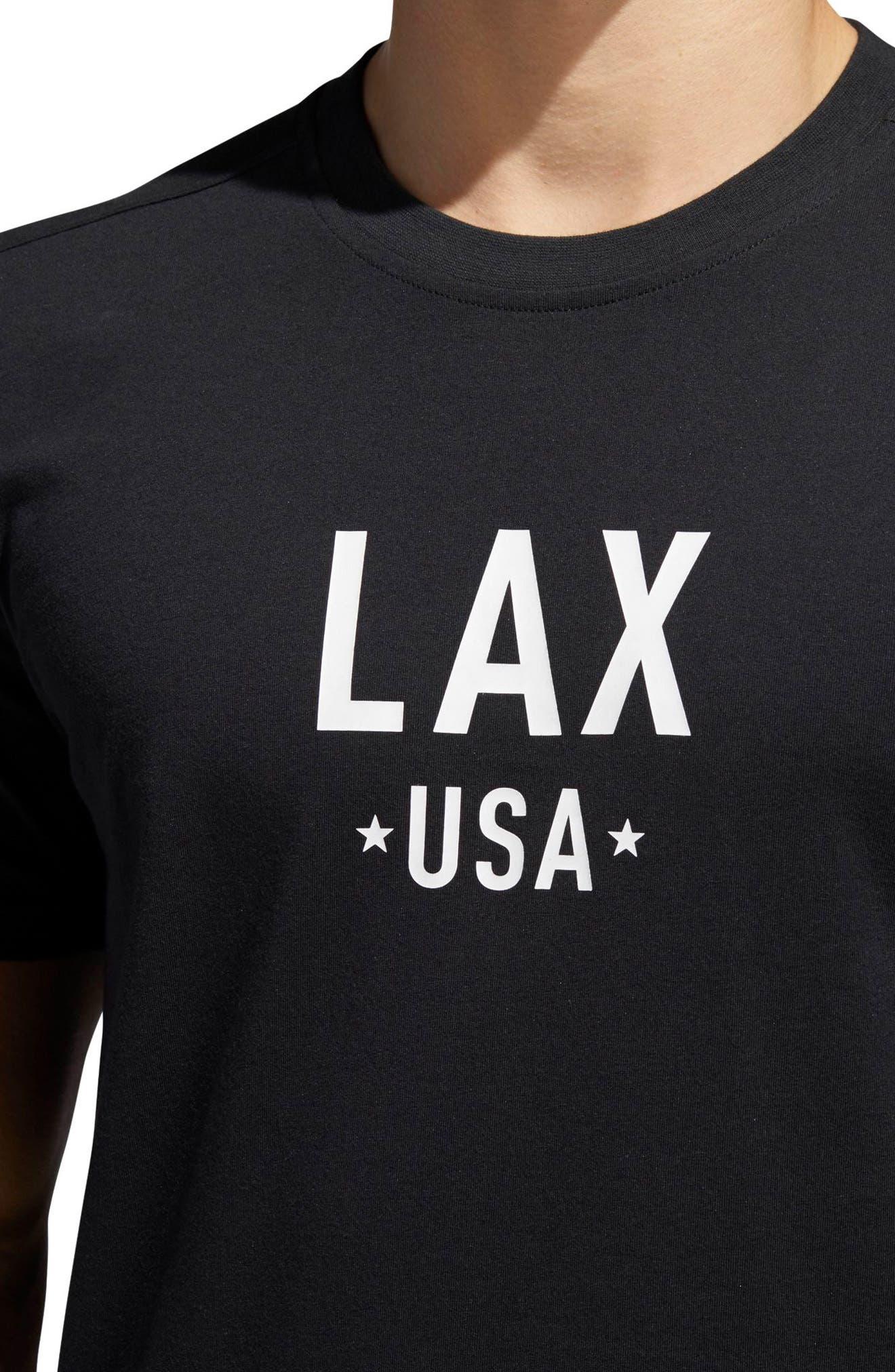 Alternate Image 3  - adidas Elevate LA T-Shirt