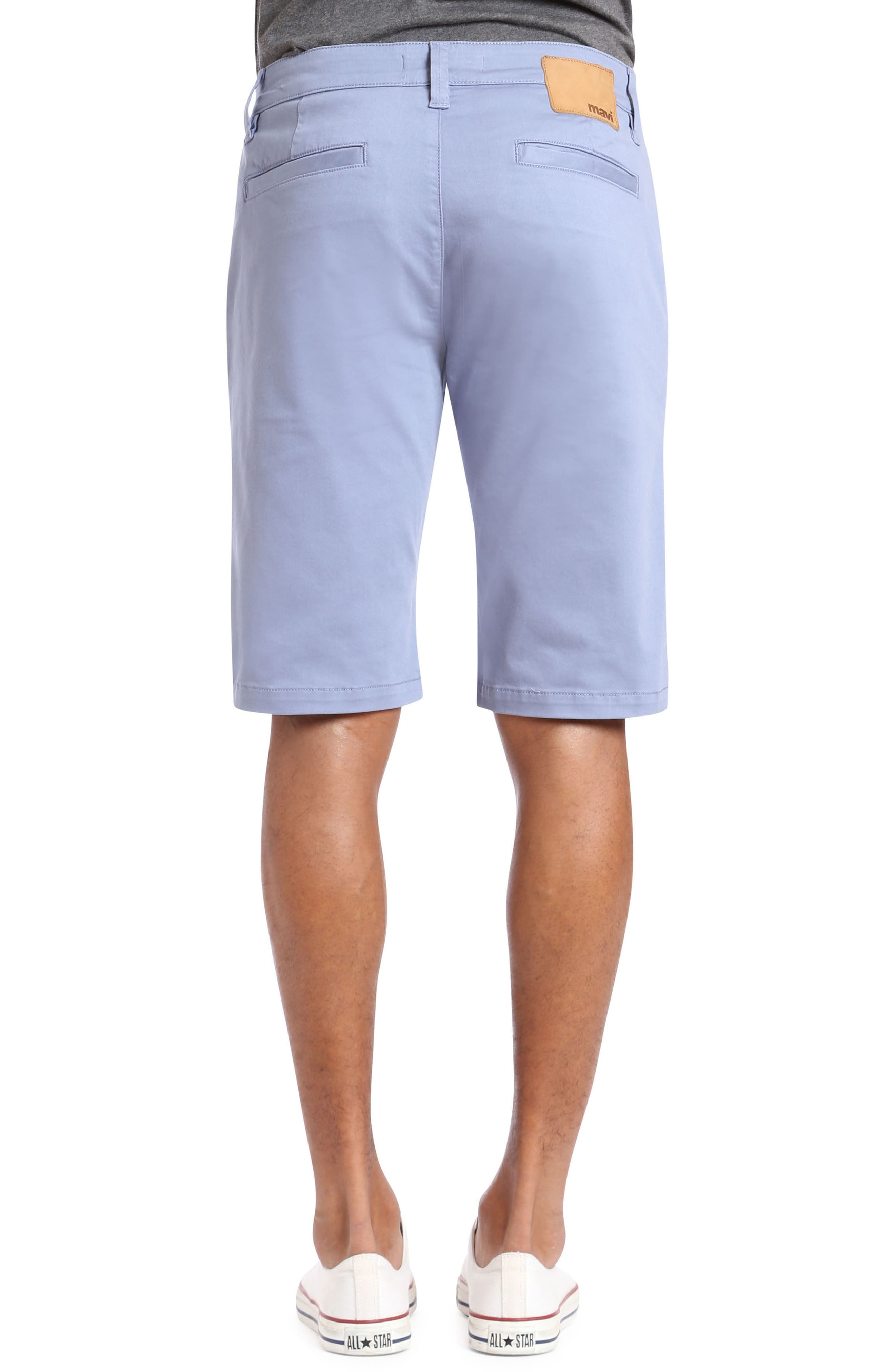 Jacob Twill Shorts,                             Alternate thumbnail 2, color,                             Stone Washed Twill