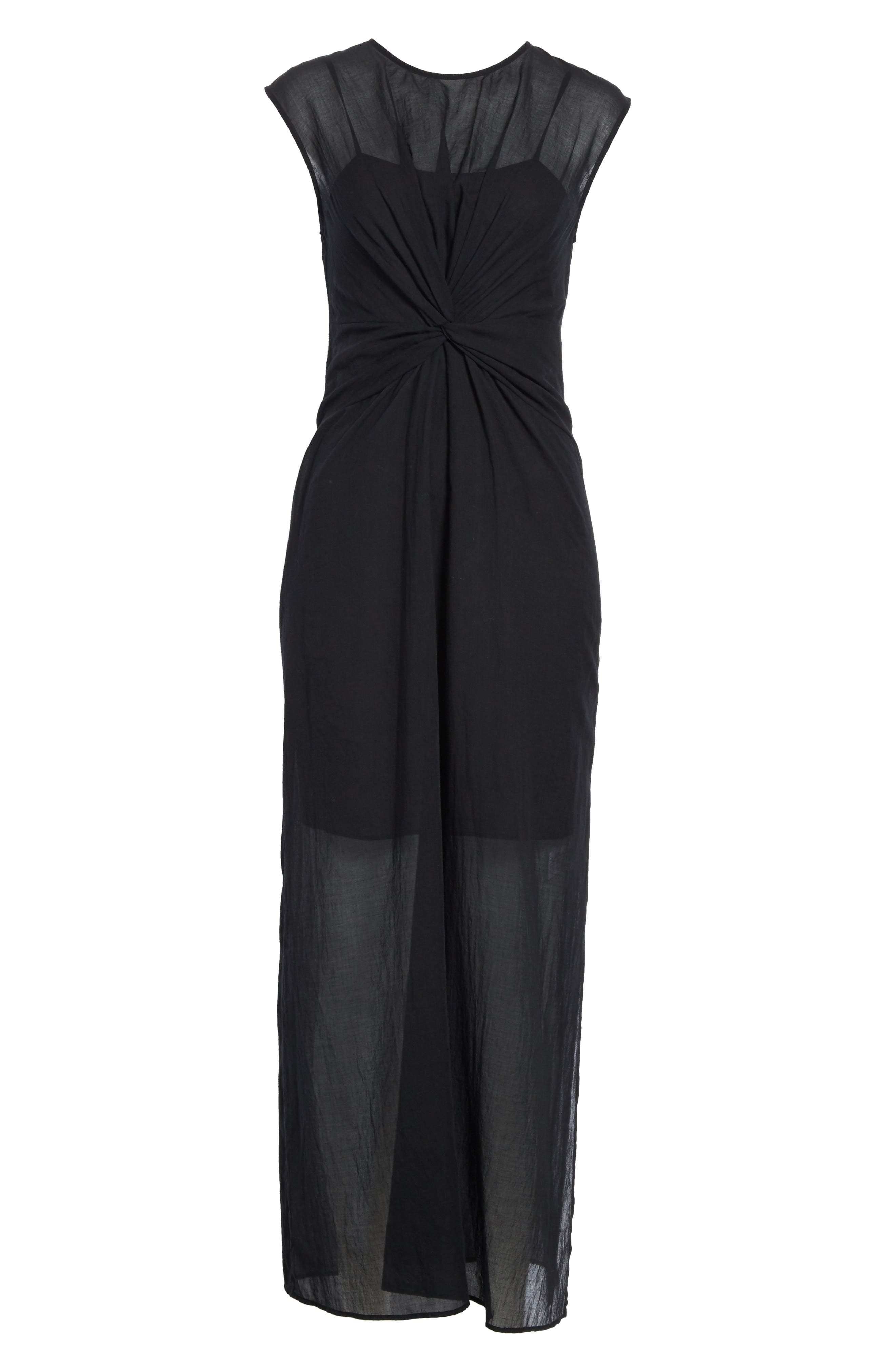 Alternate Image 6  - Theory Knot Front Maxi Dress