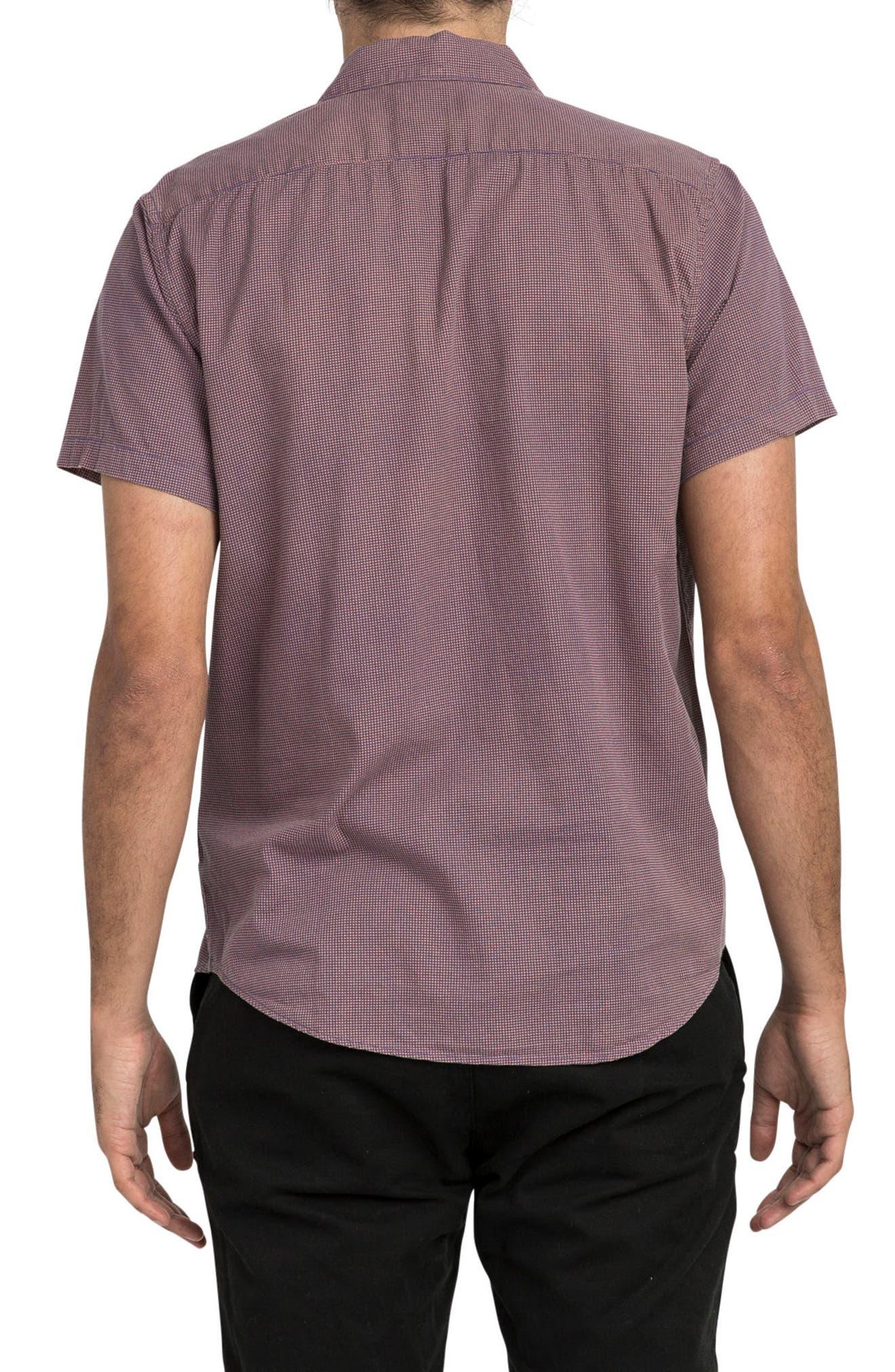 No Name Woven Shirt,                             Alternate thumbnail 2, color,                             Terracotta