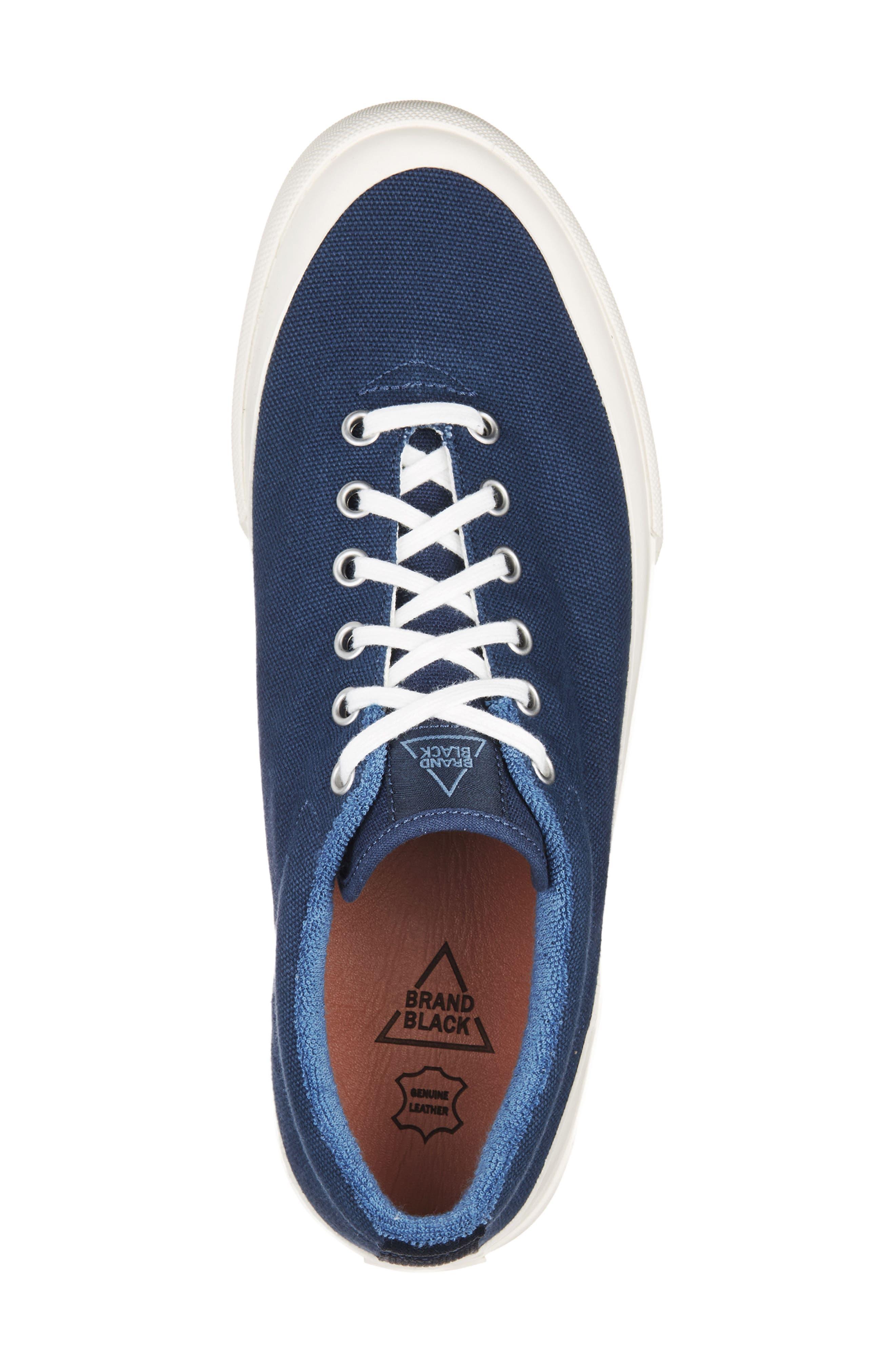 Vesta Low Top Sneaker,                             Alternate thumbnail 5, color,                             Navy