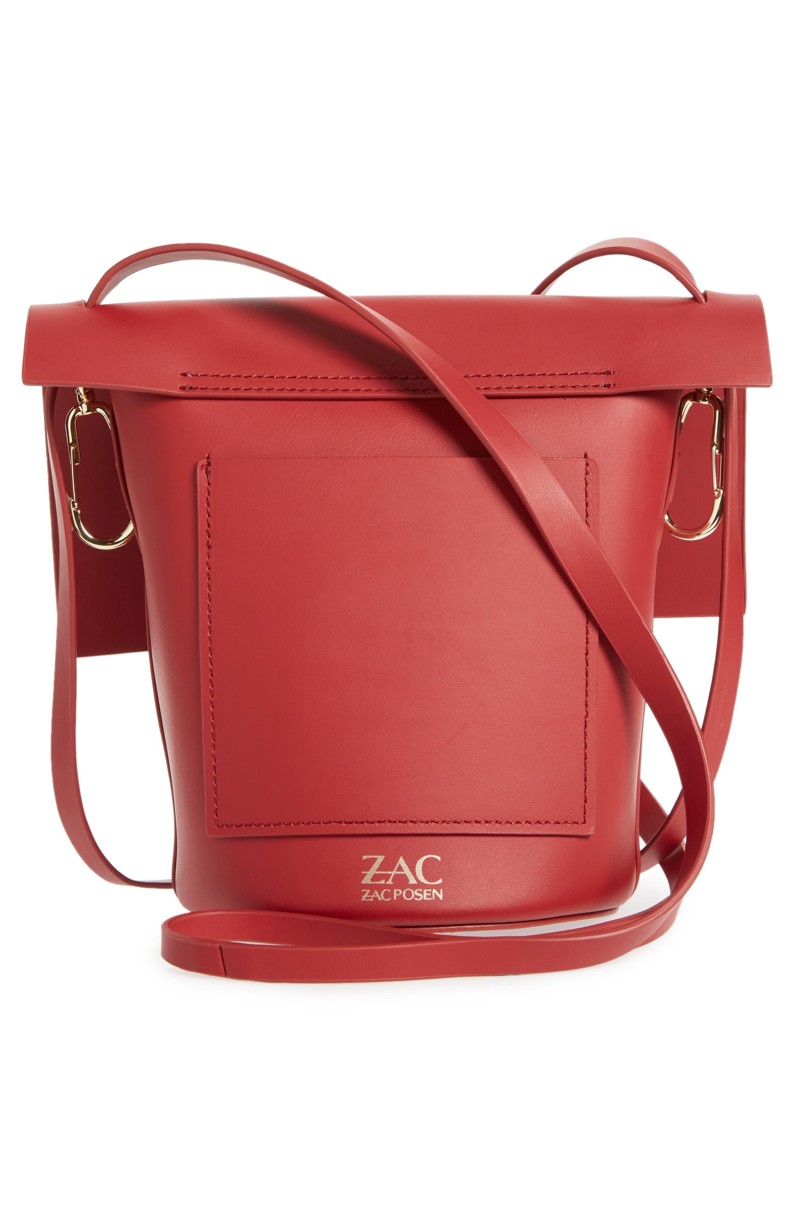 Alternate Image 3  - ZAC Zac Posen Belay Calfskin Leather Crossbody Bucket Bag