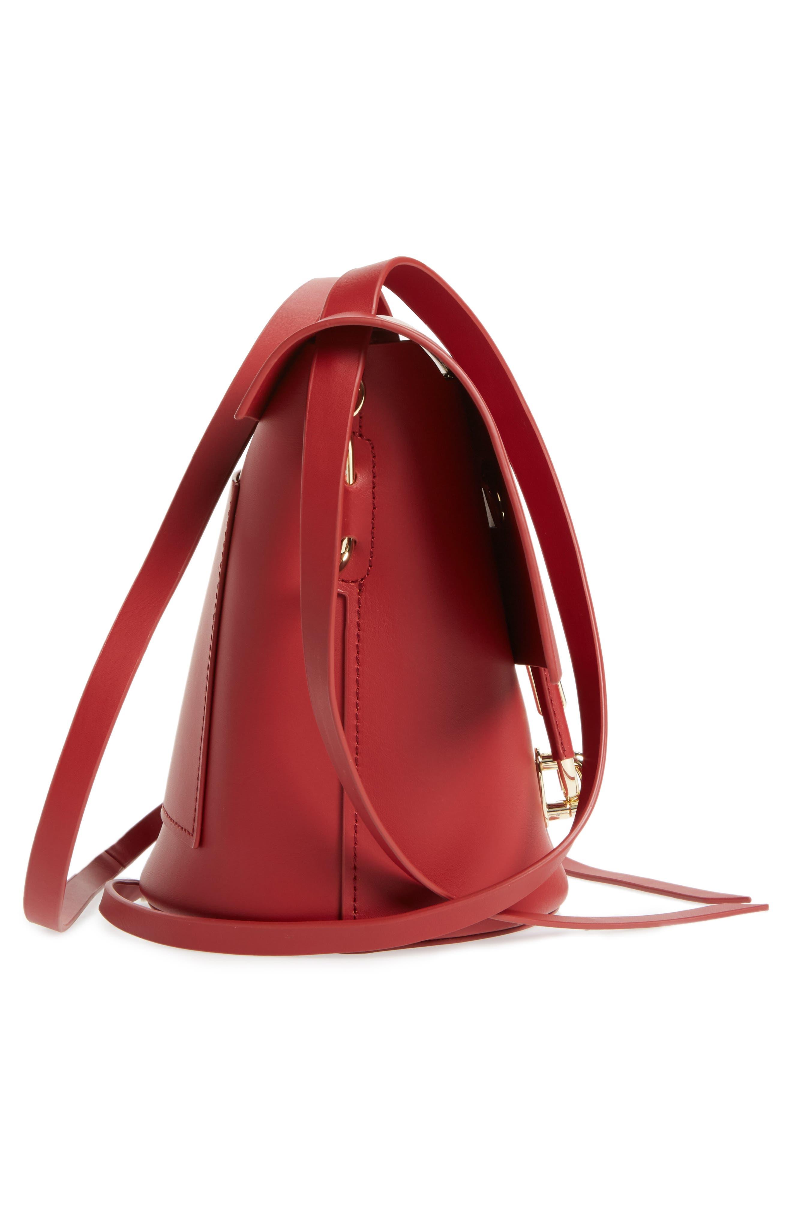 Alternate Image 5  - ZAC Zac Posen Belay Calfskin Leather Crossbody Bucket Bag