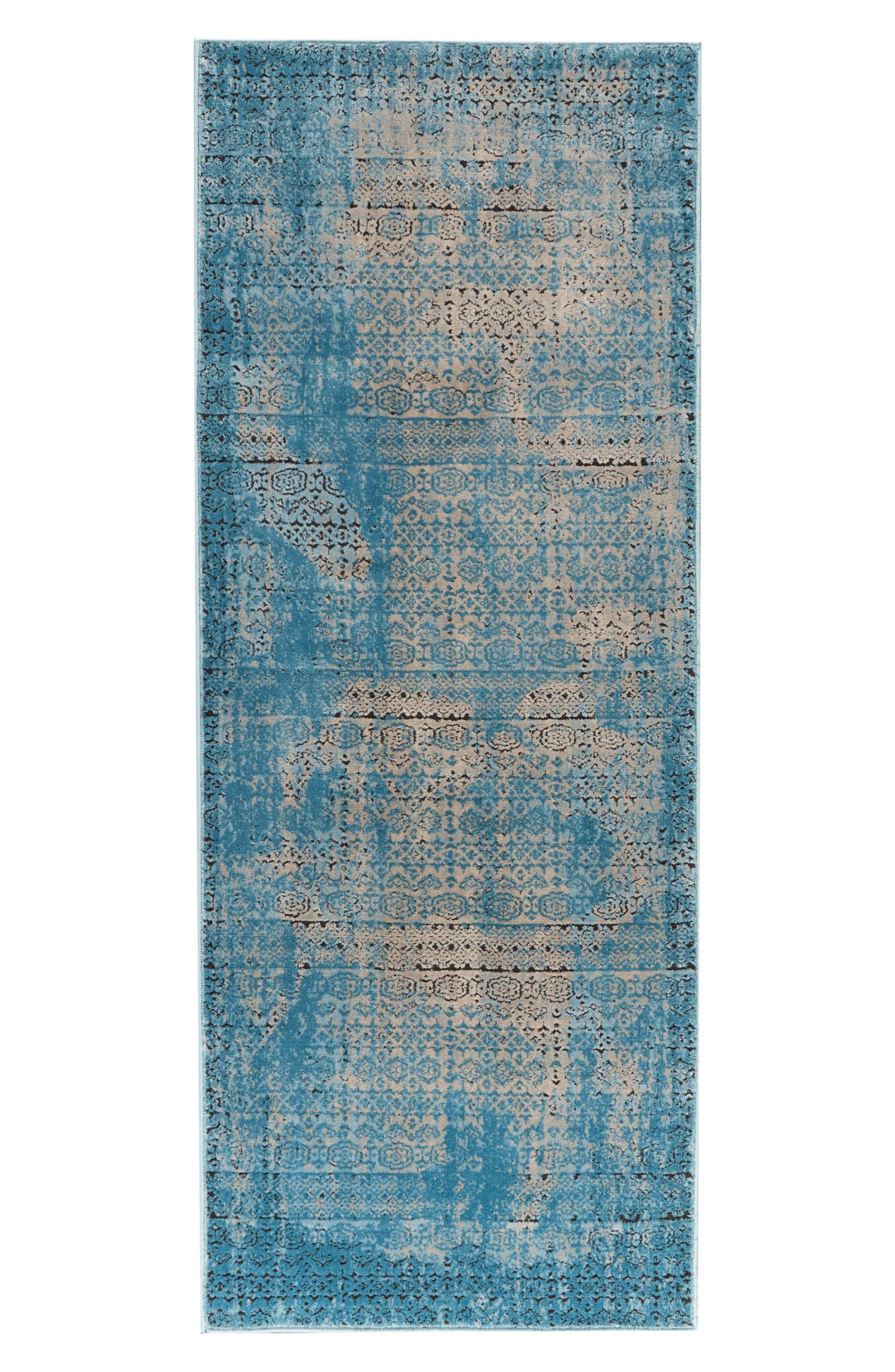 Karma Rug,                         Main,                         color, Blue