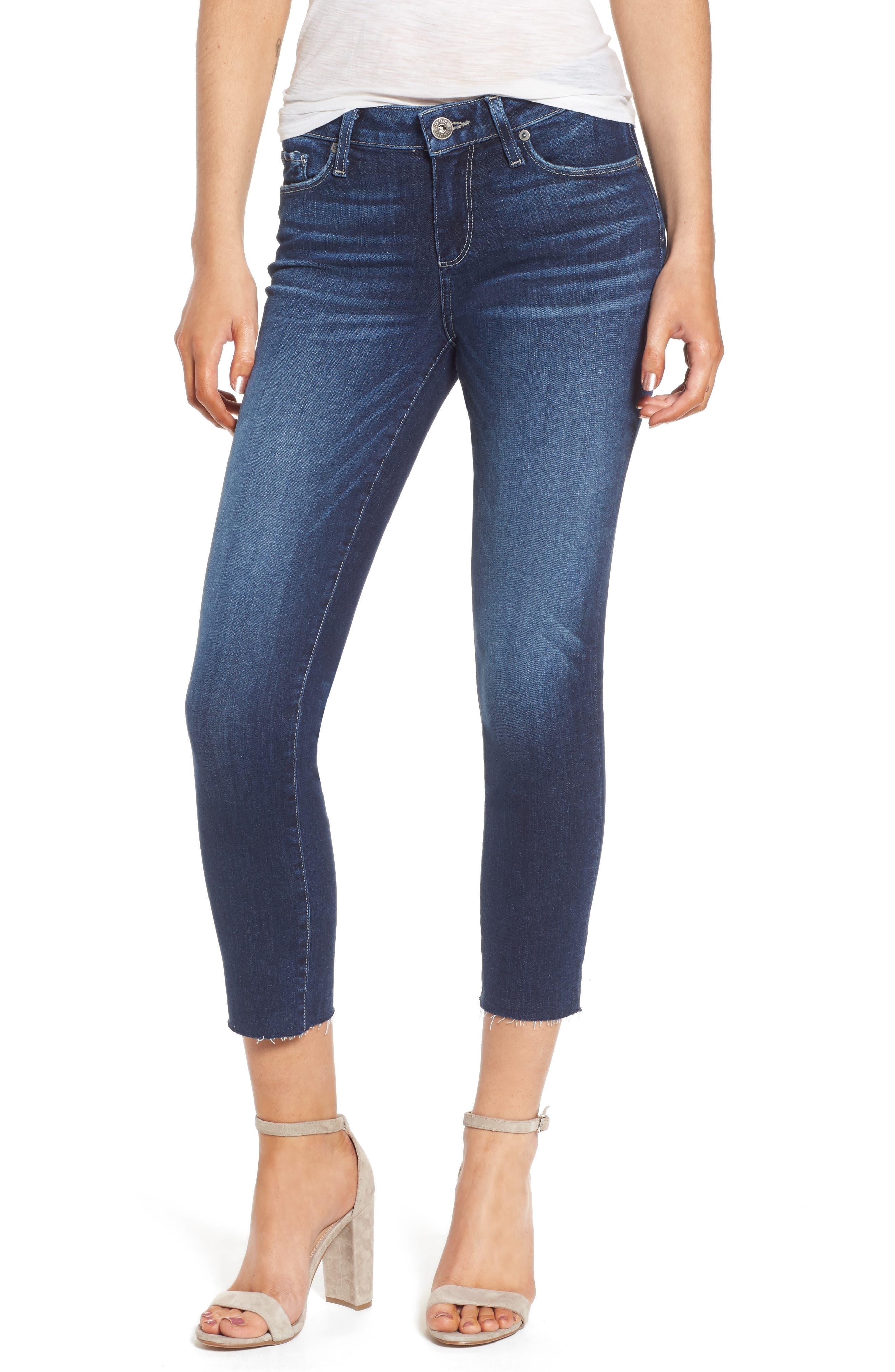 Transcend - Skyline Crop Skinny Jeans,                             Main thumbnail 1, color,                             Kylen