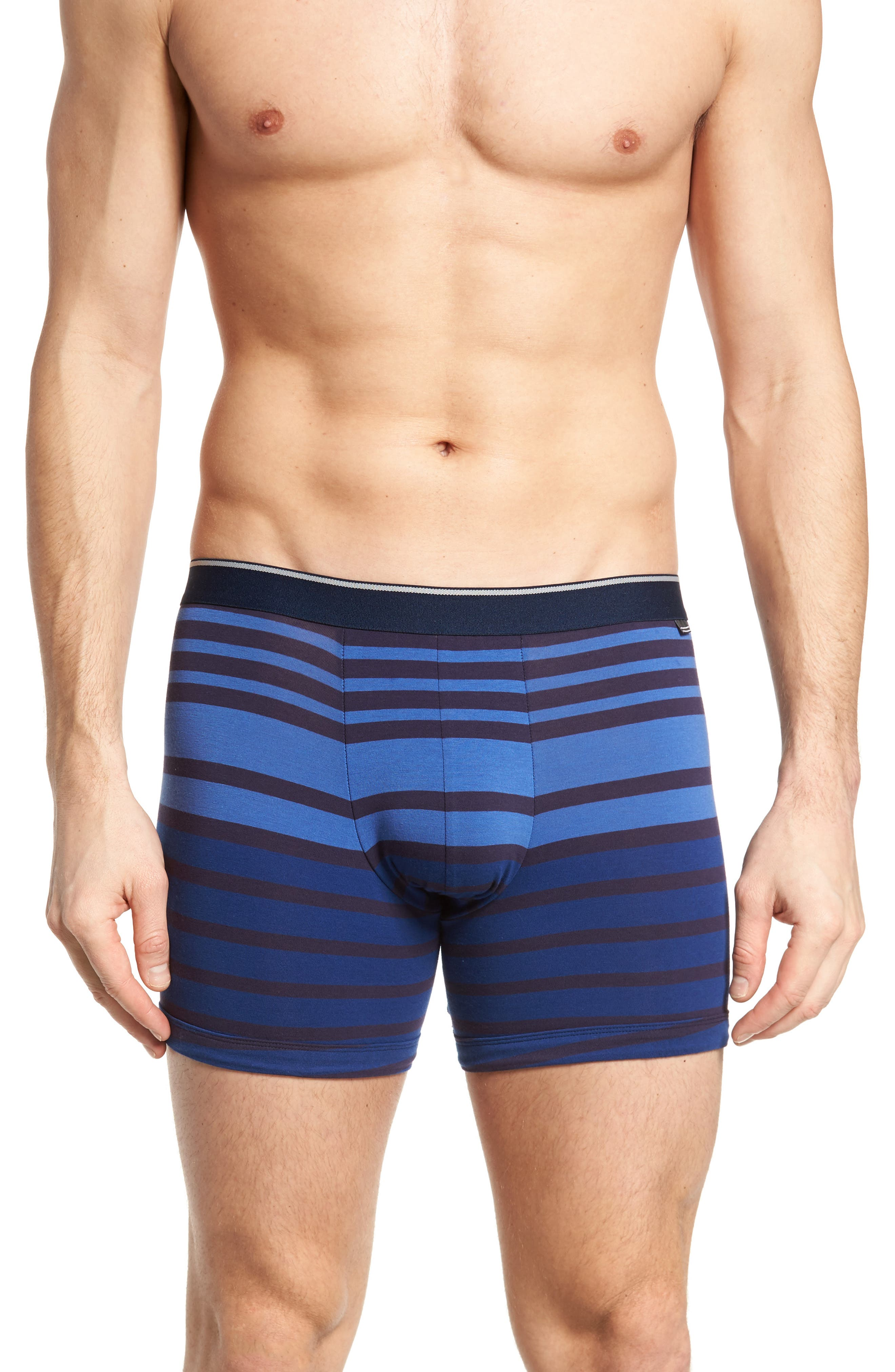 3-Pack Boxer Briefs,                             Alternate thumbnail 2, color,                             Navy/ Navy-Blue Stripe