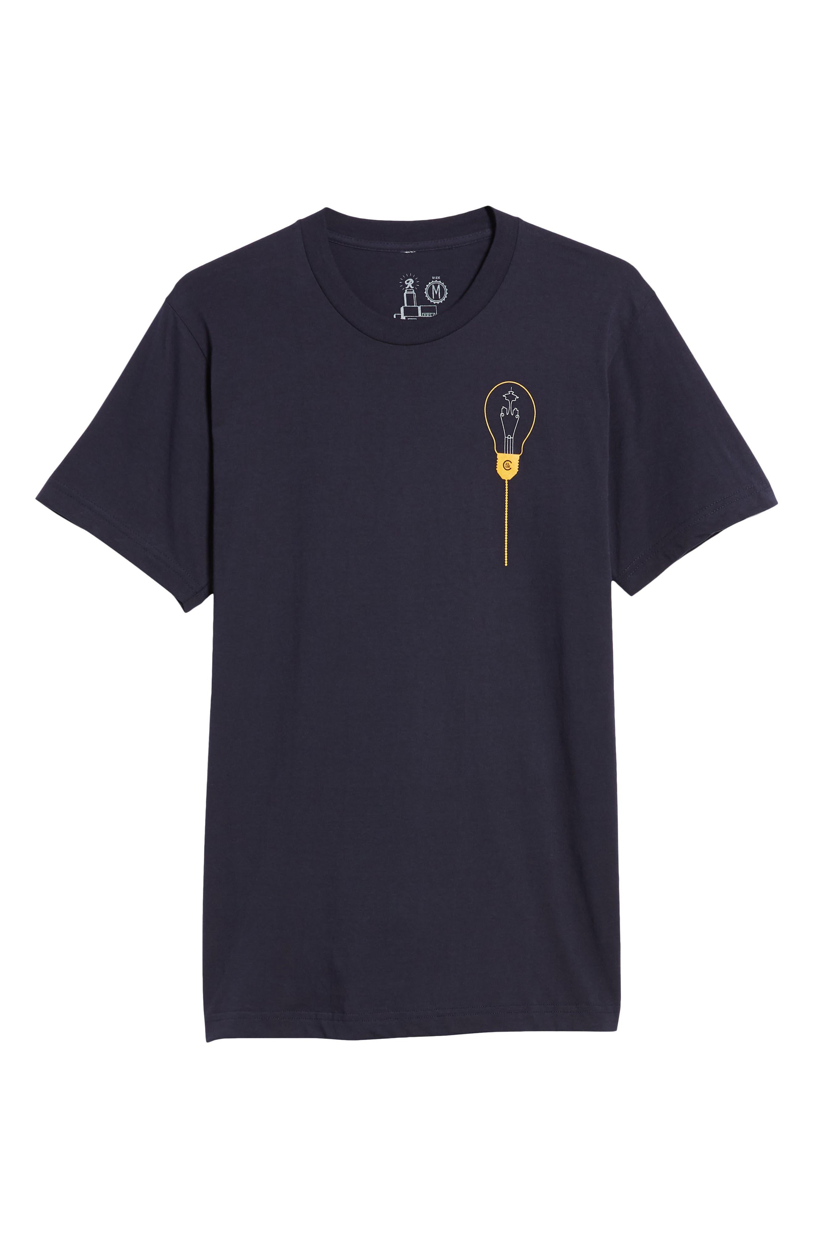 Keeping Seatown Lit T-Shirt,                             Alternate thumbnail 6, color,                             Navy