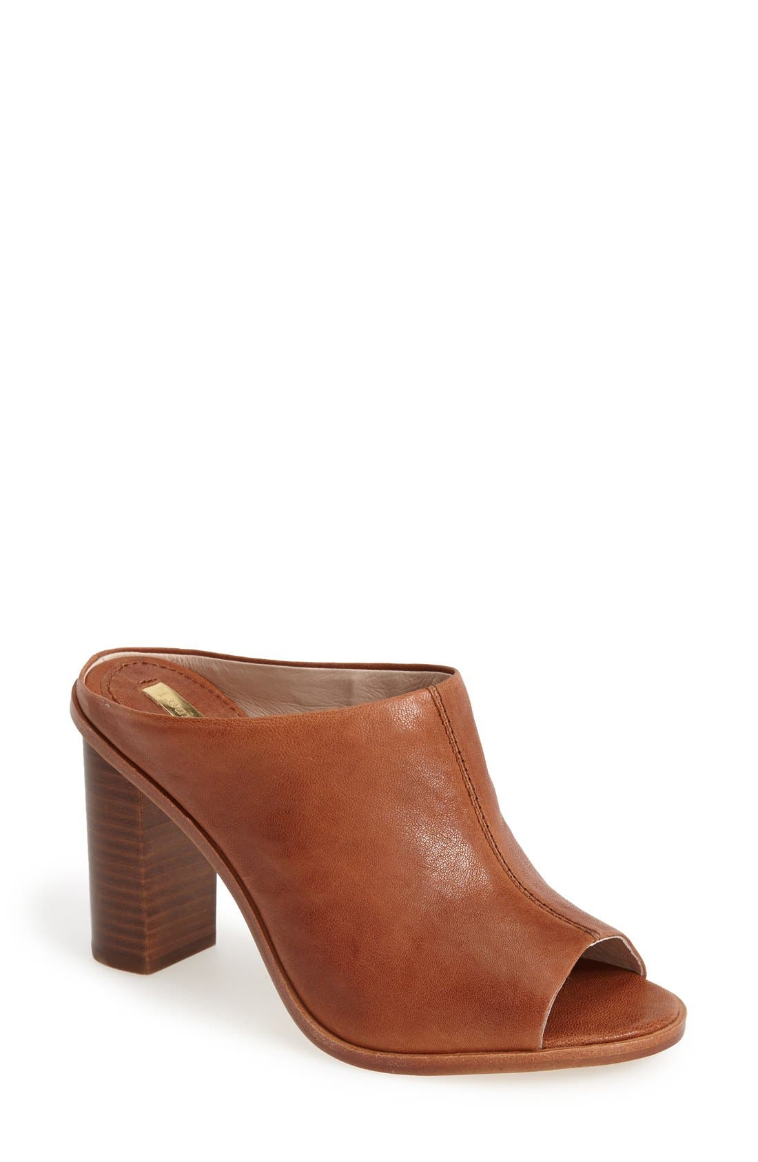 Alternate Image 1 Selected - Louise et Cie 'Lorena' Open Toe Mule (Women)