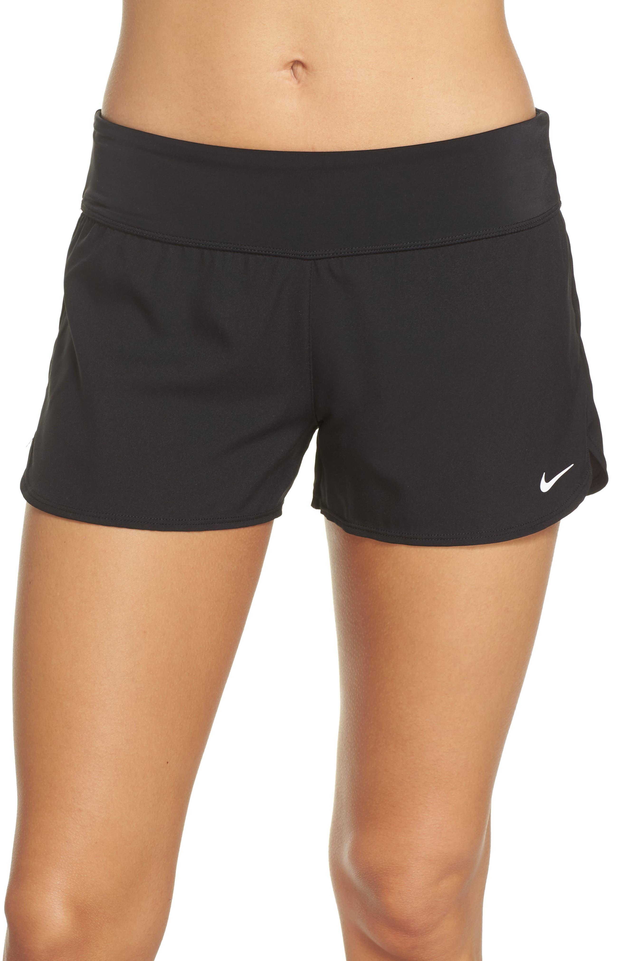 Swim Board Shorts,                             Main thumbnail 1, color,                             Black