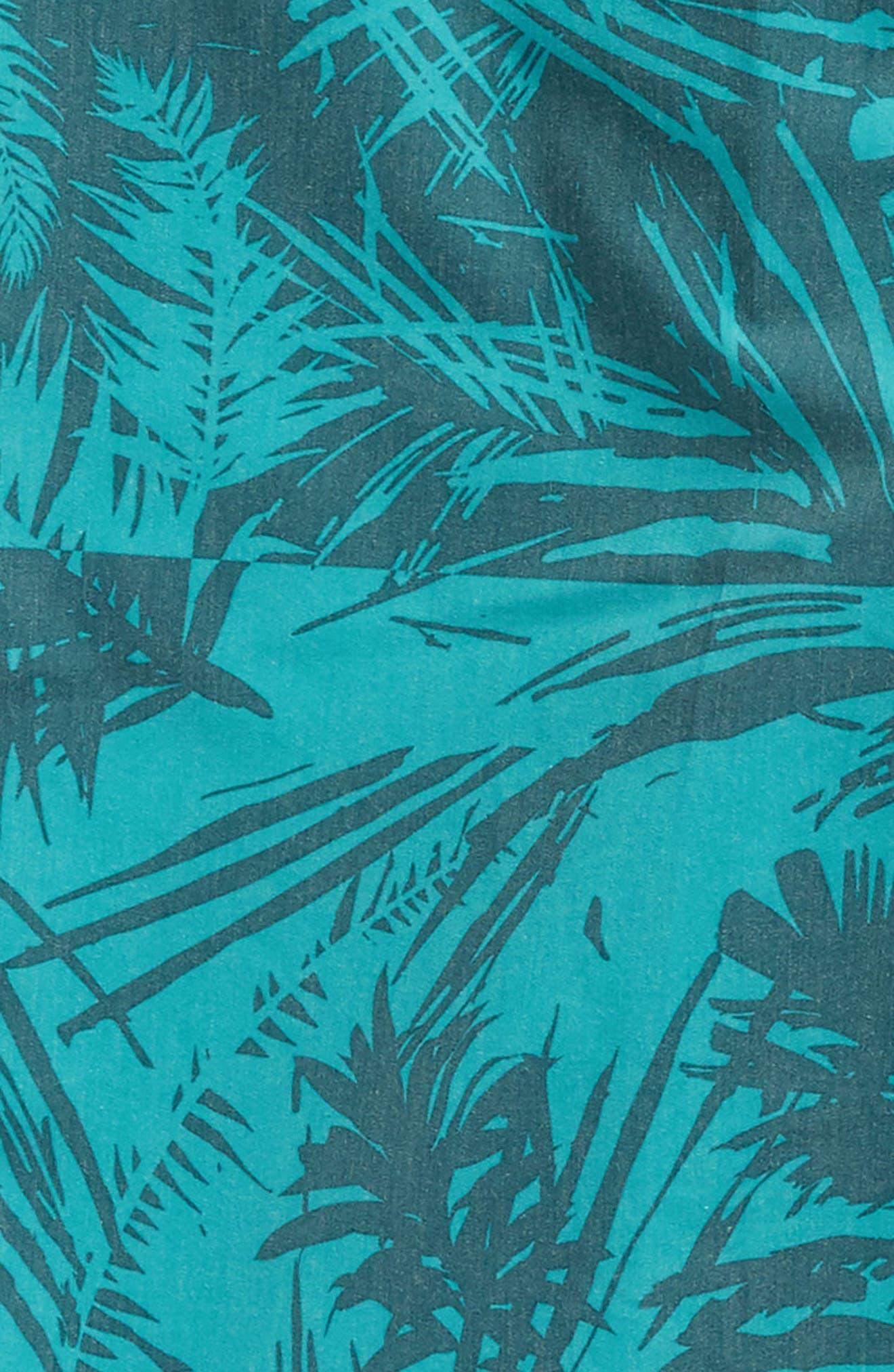 Inverted Cruzer Board Shorts,                             Alternate thumbnail 5, color,                             Aqua