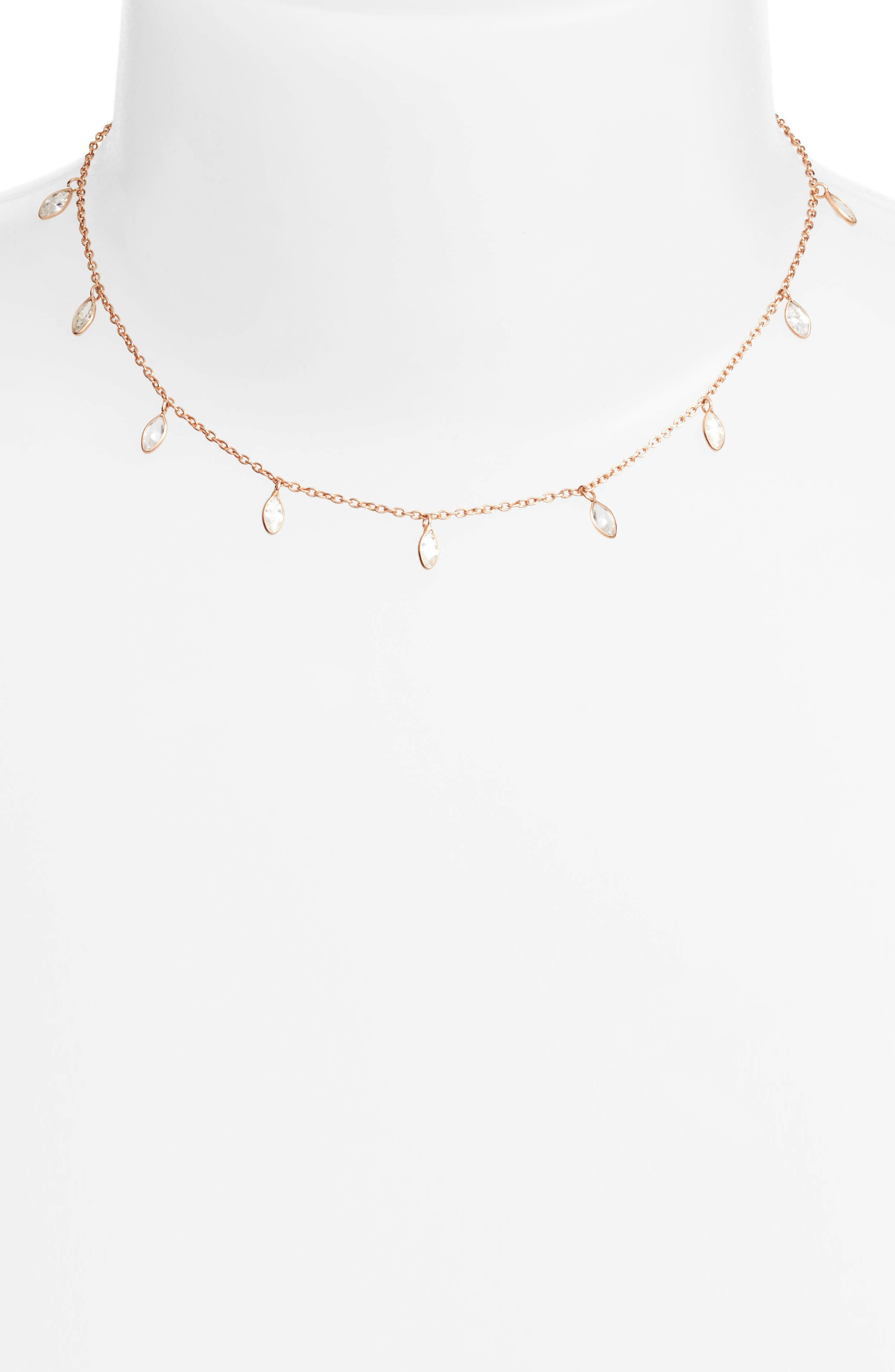 Chan Luu Crystal Short Necklace