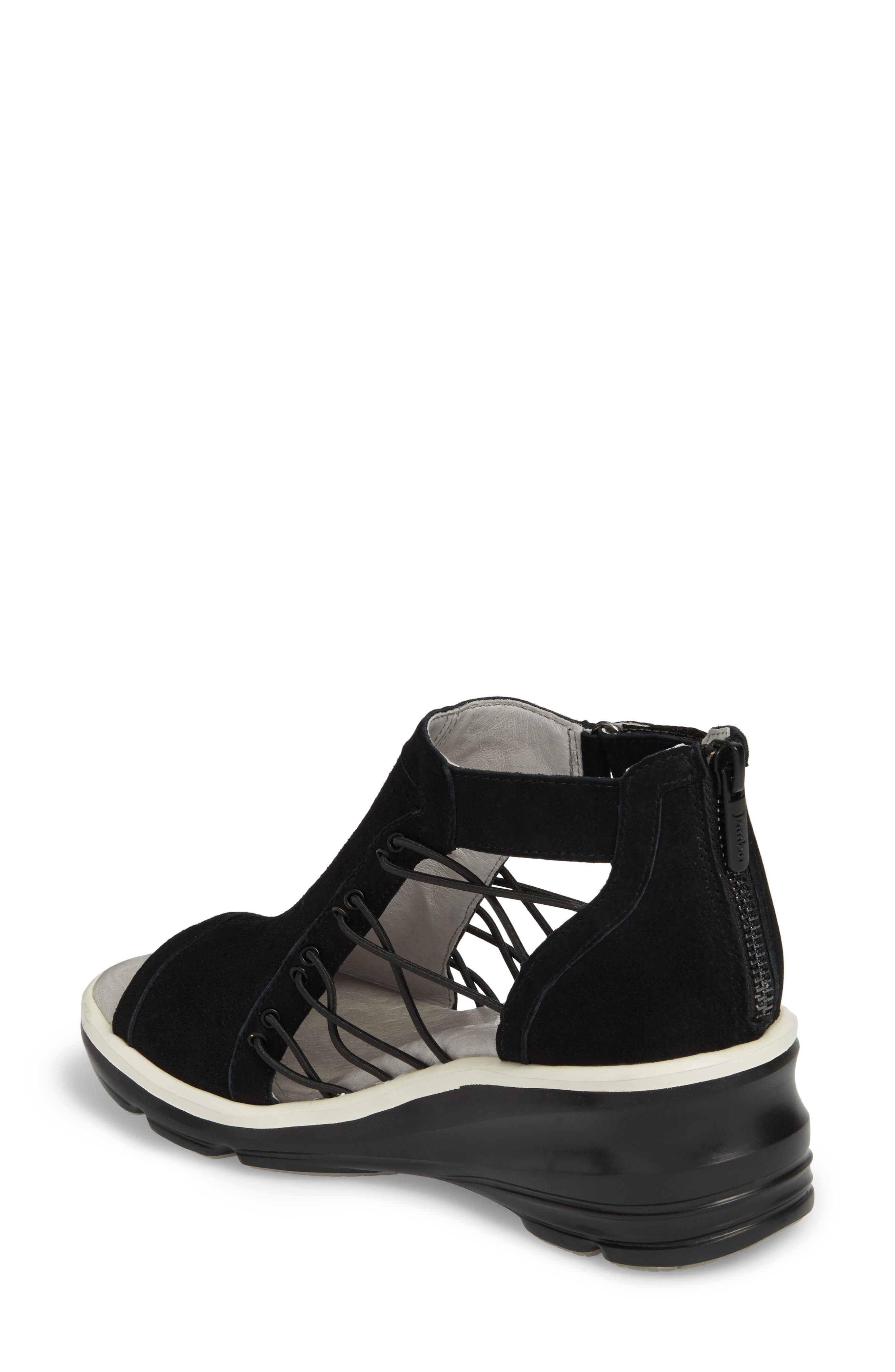 Alternate Image 2  - Jambu Naomi Perforated Wedge Sandal (Women)