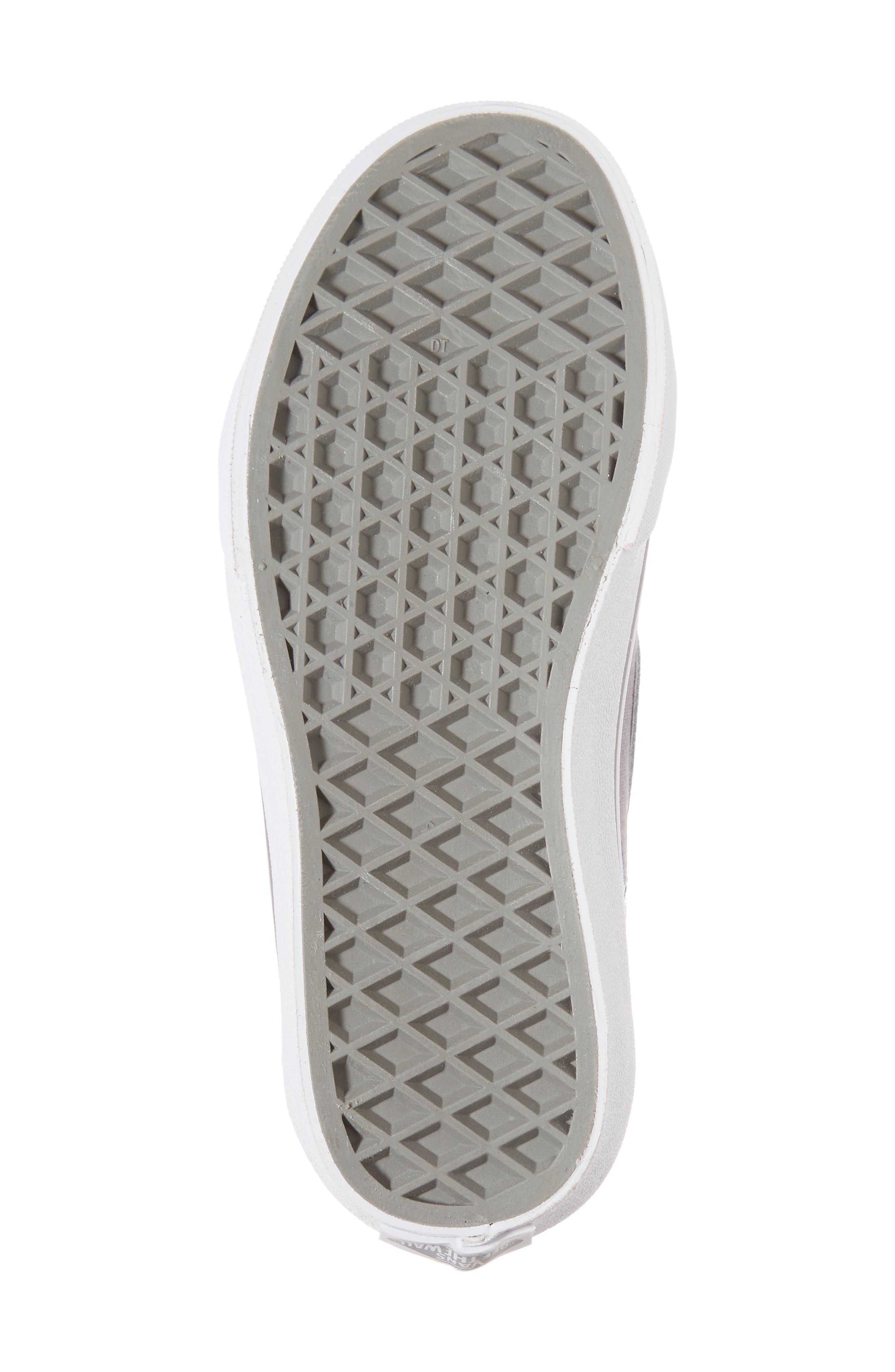 Alternate Image 6  - Vans Sk8-Hi Zip Star Print High Top Sneaker (Baby, Walker, Toddler, Little Kid & Big Kid)