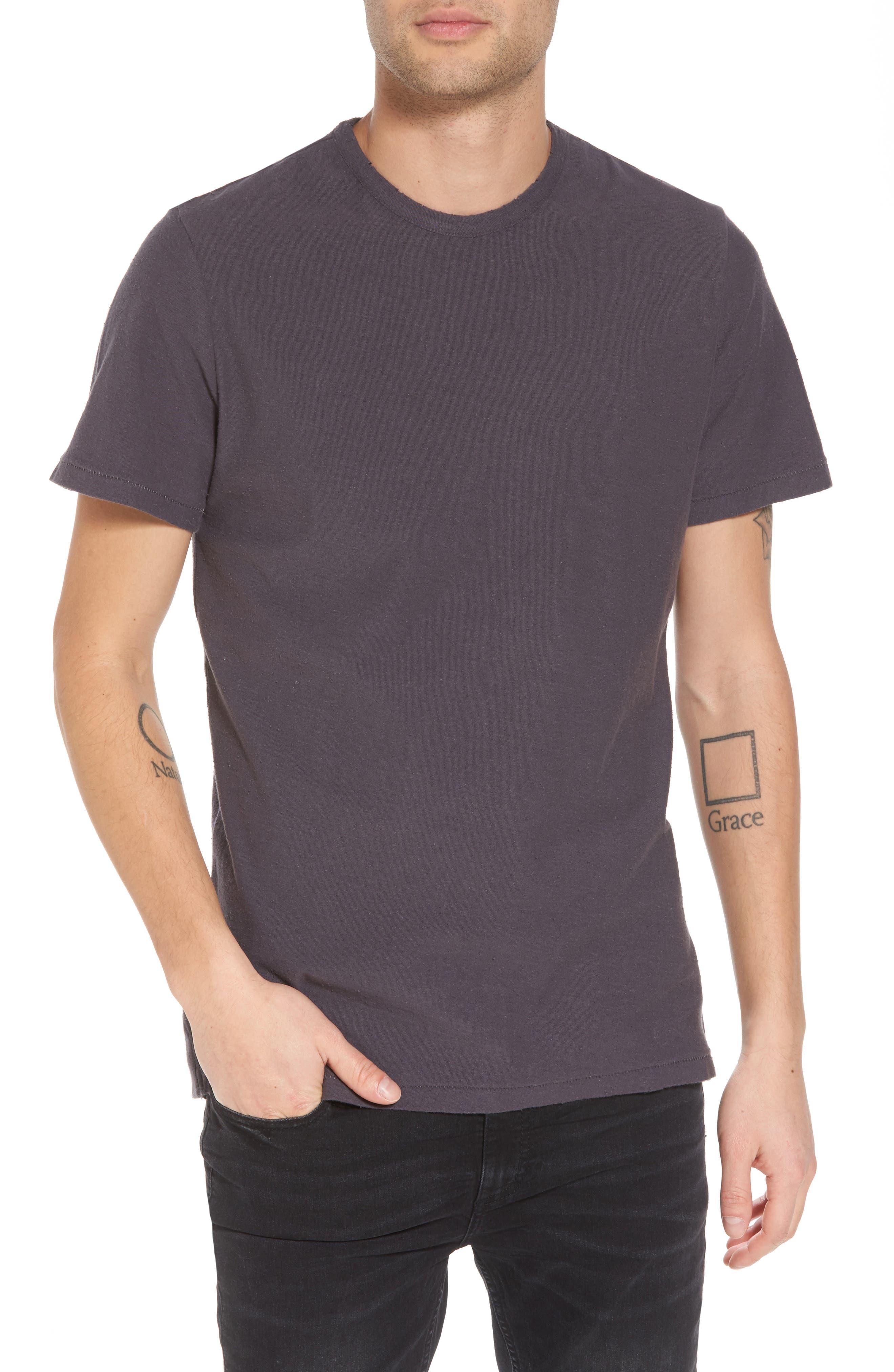 Nep Crewneck T-Shirt,                             Main thumbnail 1, color,                             Grey Stonehenge