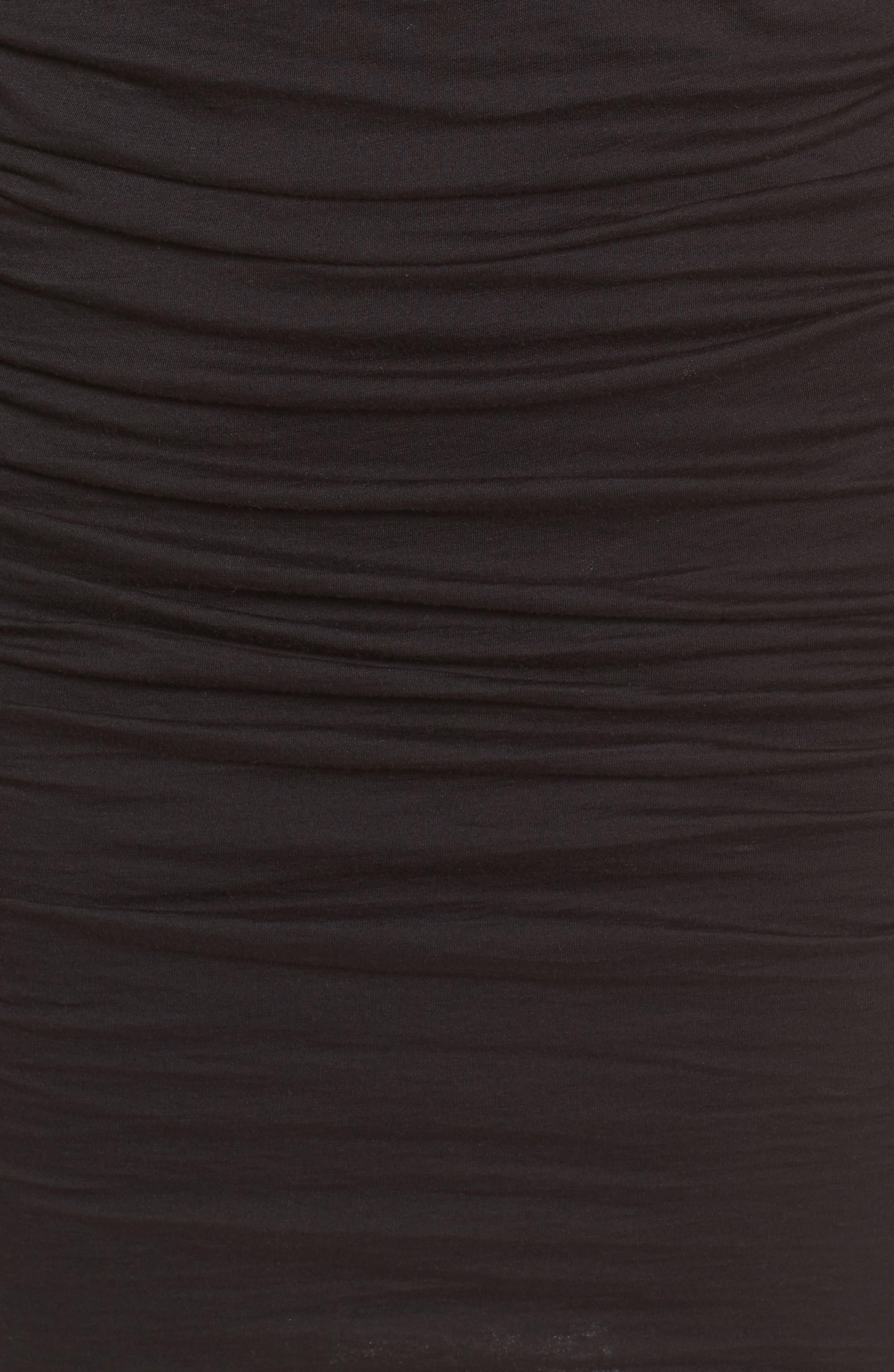Alternate Image 5  - Velvet by Graham & Spencer Gauzy Whisper Cold Shoulder Dress