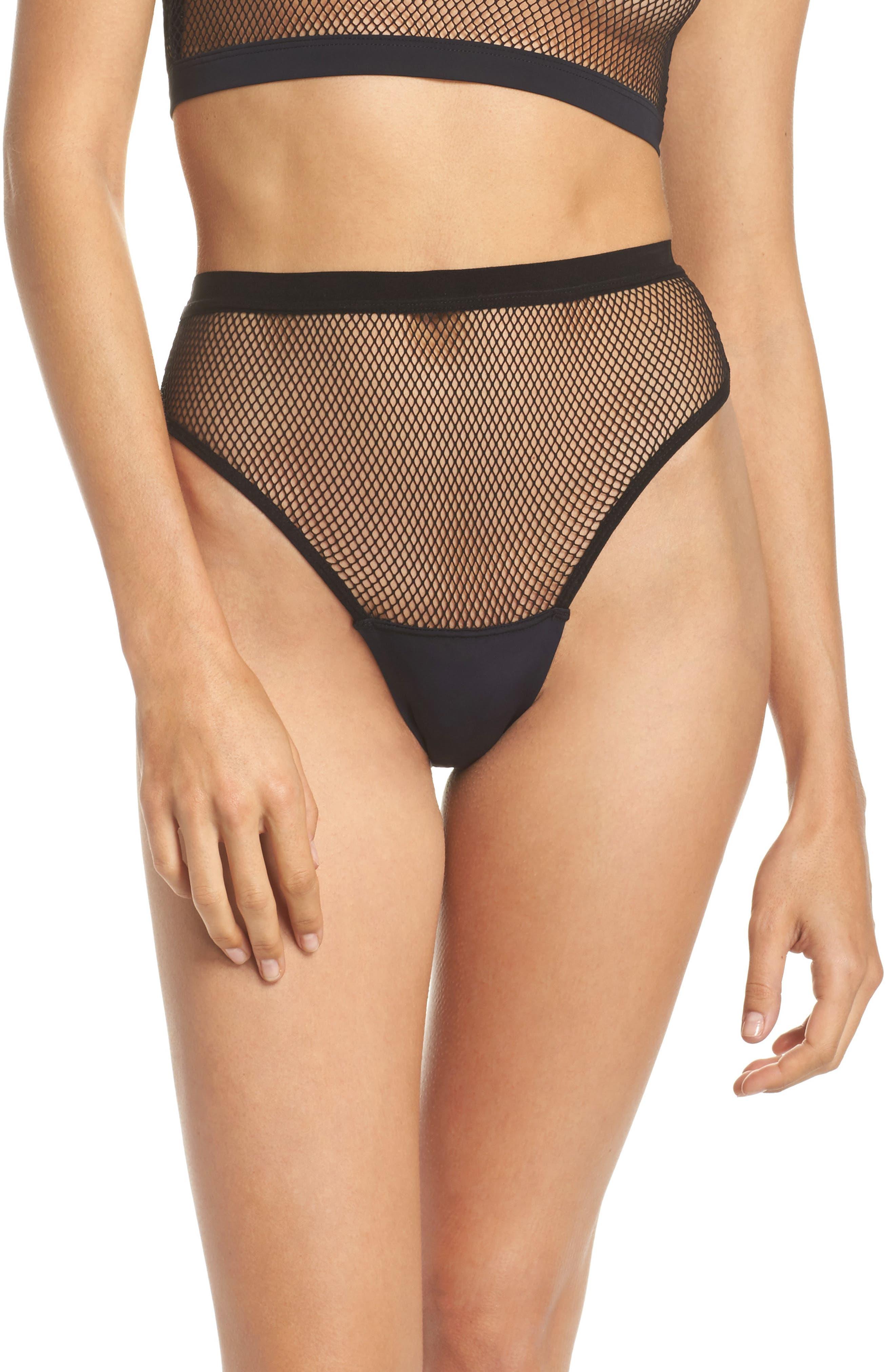 Honeydew High Waist Fishnet Panties (3 for $33)