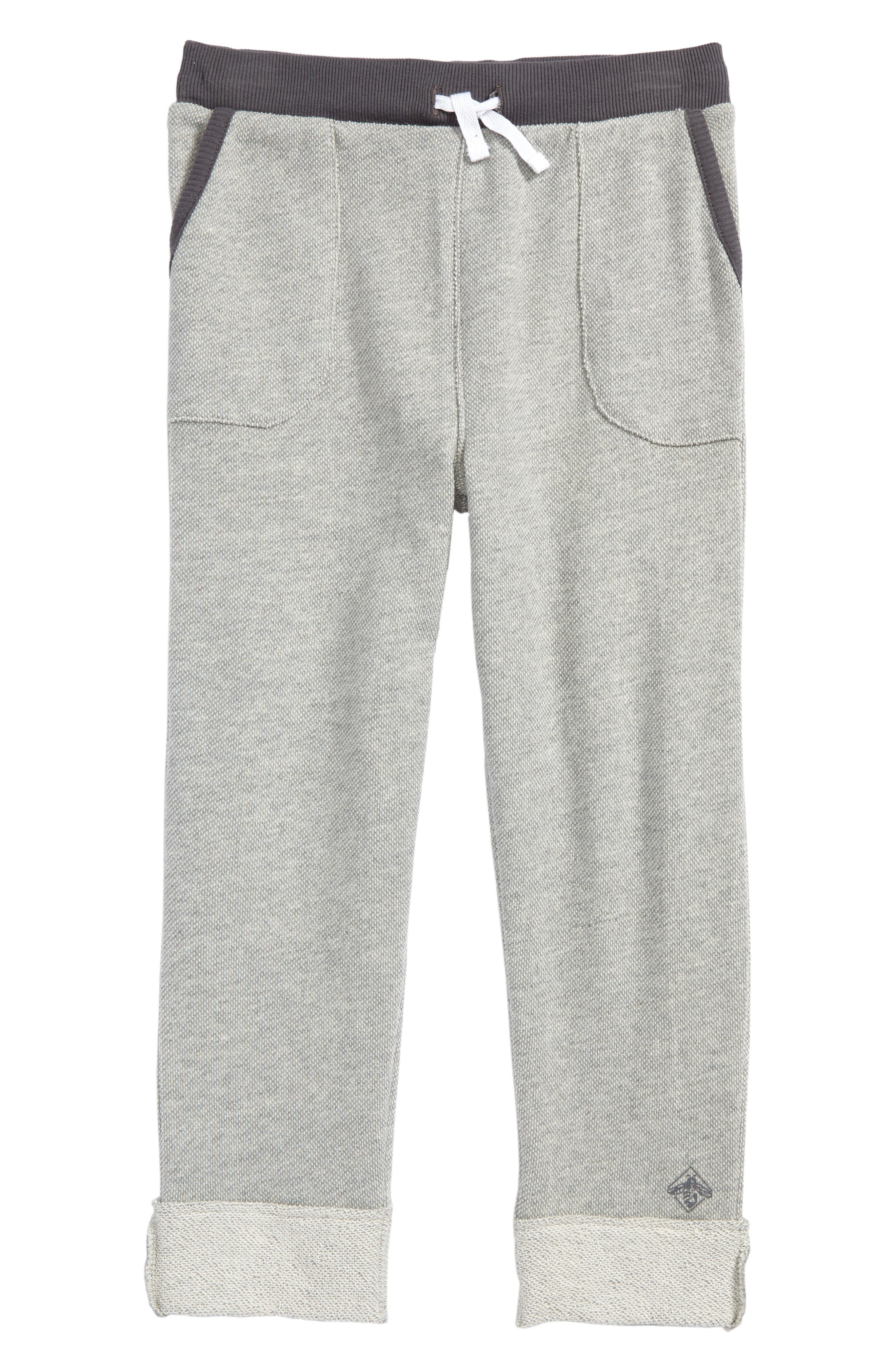Organic Cotton Sweatpants,                         Main,                         color, Heather Grey
