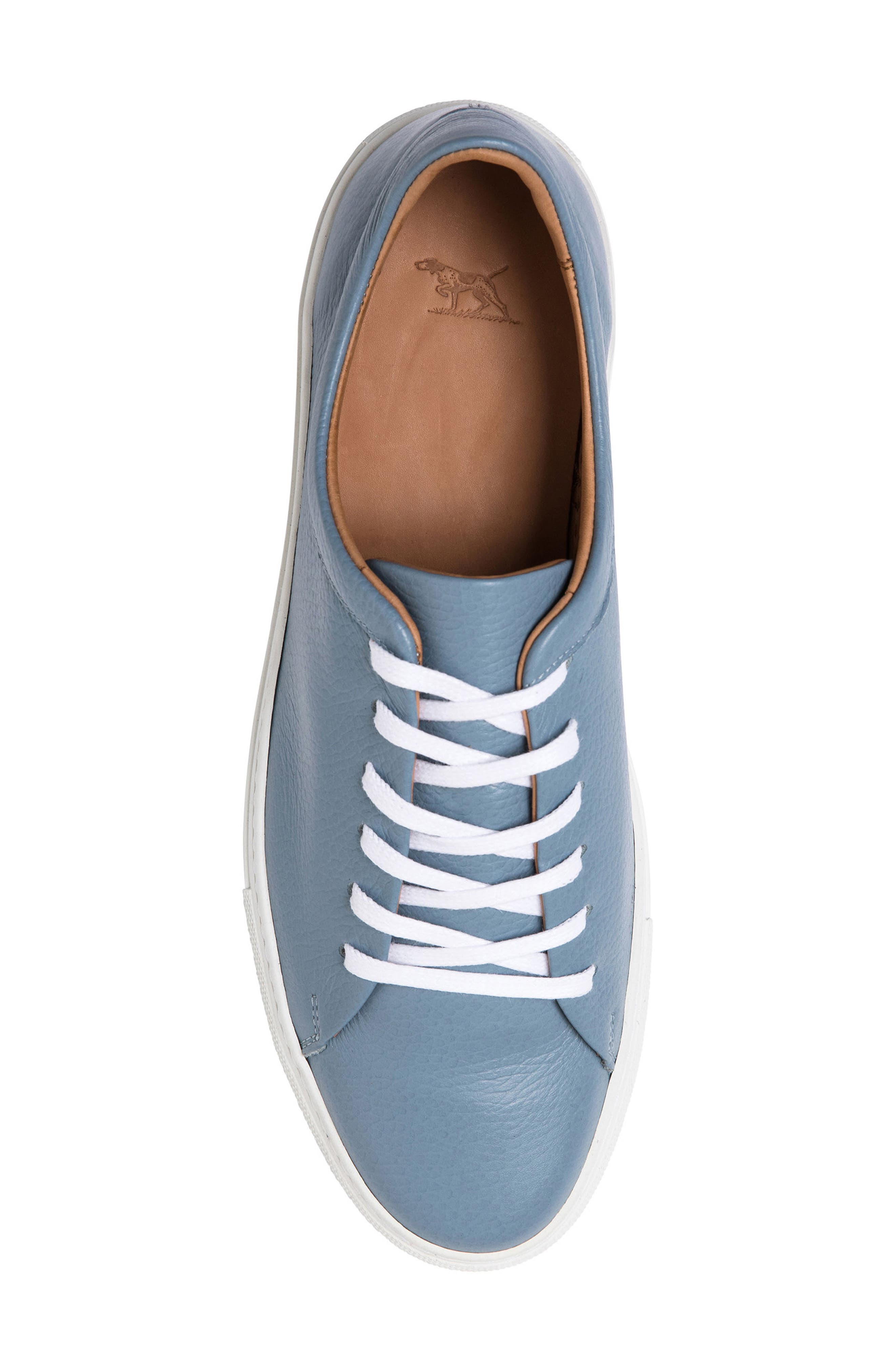 Windemere Sneaker,                             Alternate thumbnail 5, color,                             Sky Blue Leather