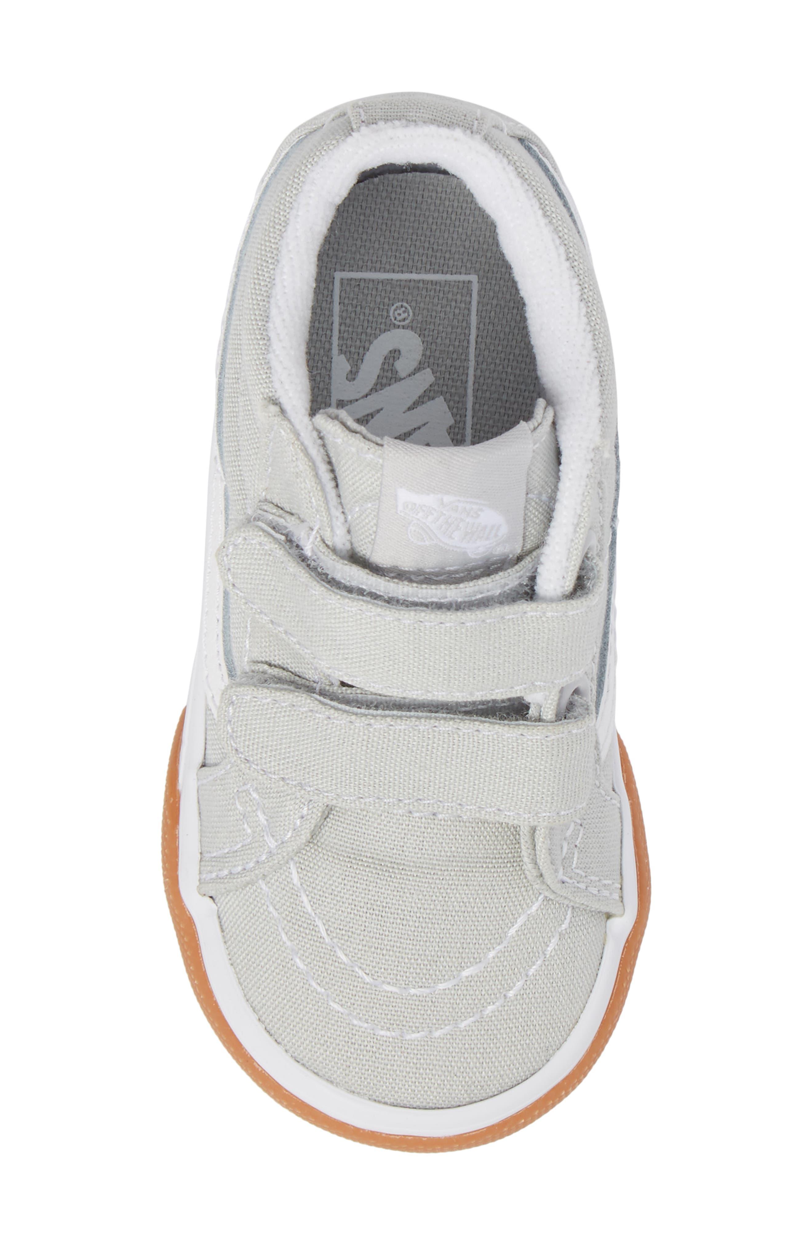 Alternate Image 5  - Vans SK8-Mid Reissue V Sneaker (Baby, Walker & Toddler)